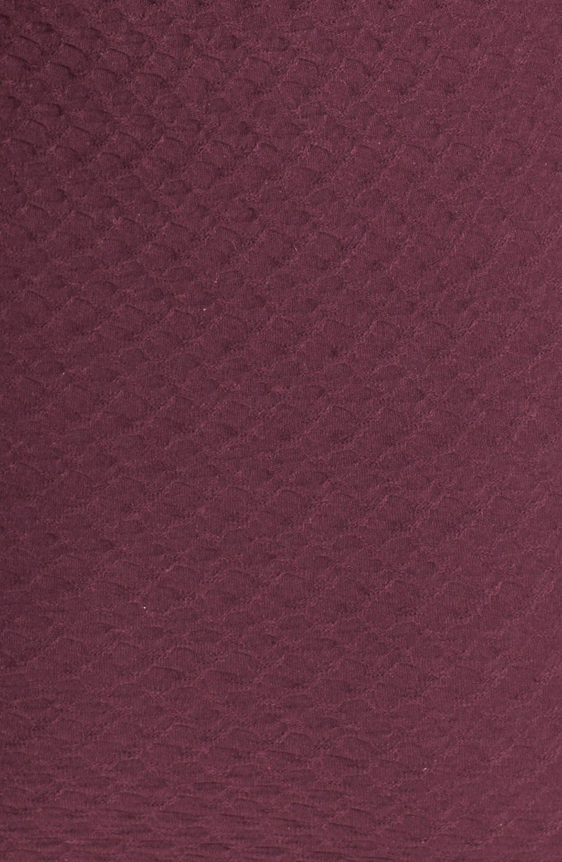 Alternate Image 3  - Topshop Cutout Textured Body-Con Dress