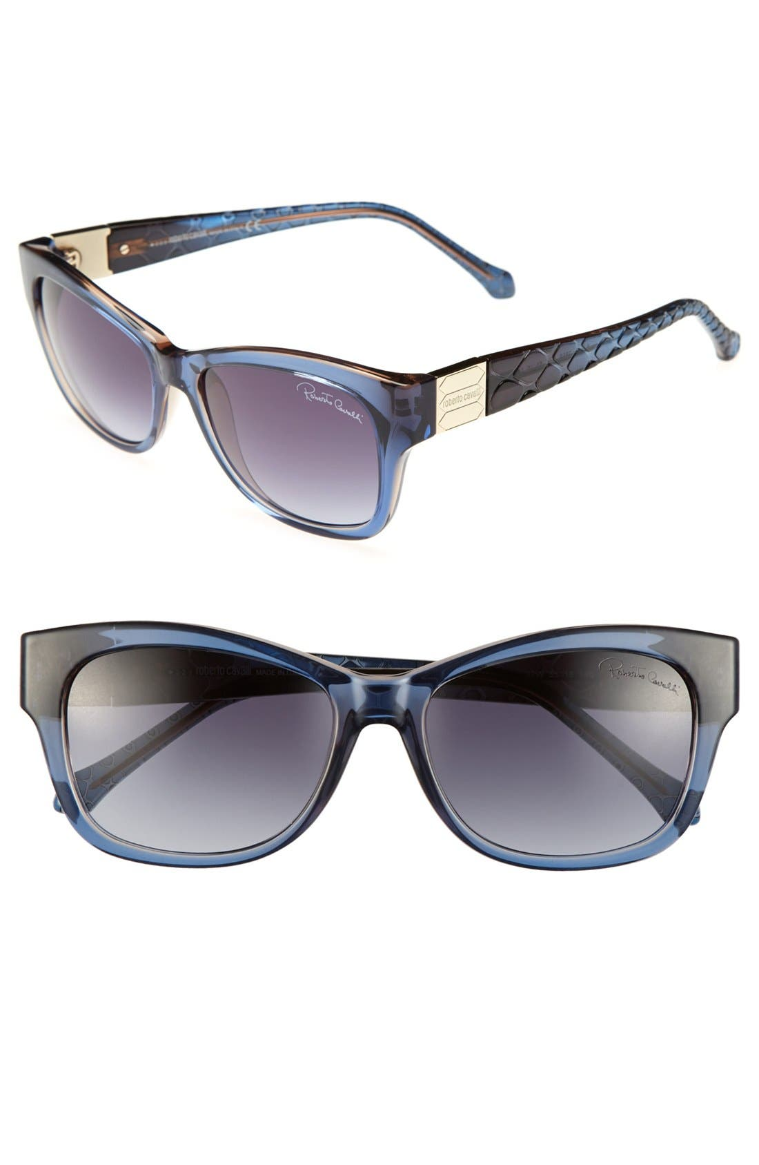 Alternate Image 1 Selected - Roberto Cavalli 'Acamar' 55mm Sunglasses