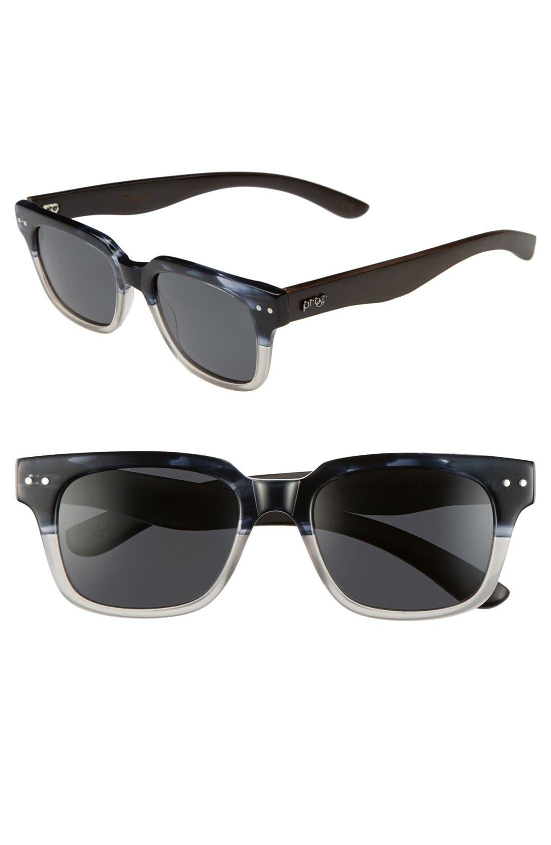 Main Image - Proof Eyewear 'Pledge' 47mm Polarized Sunglasses