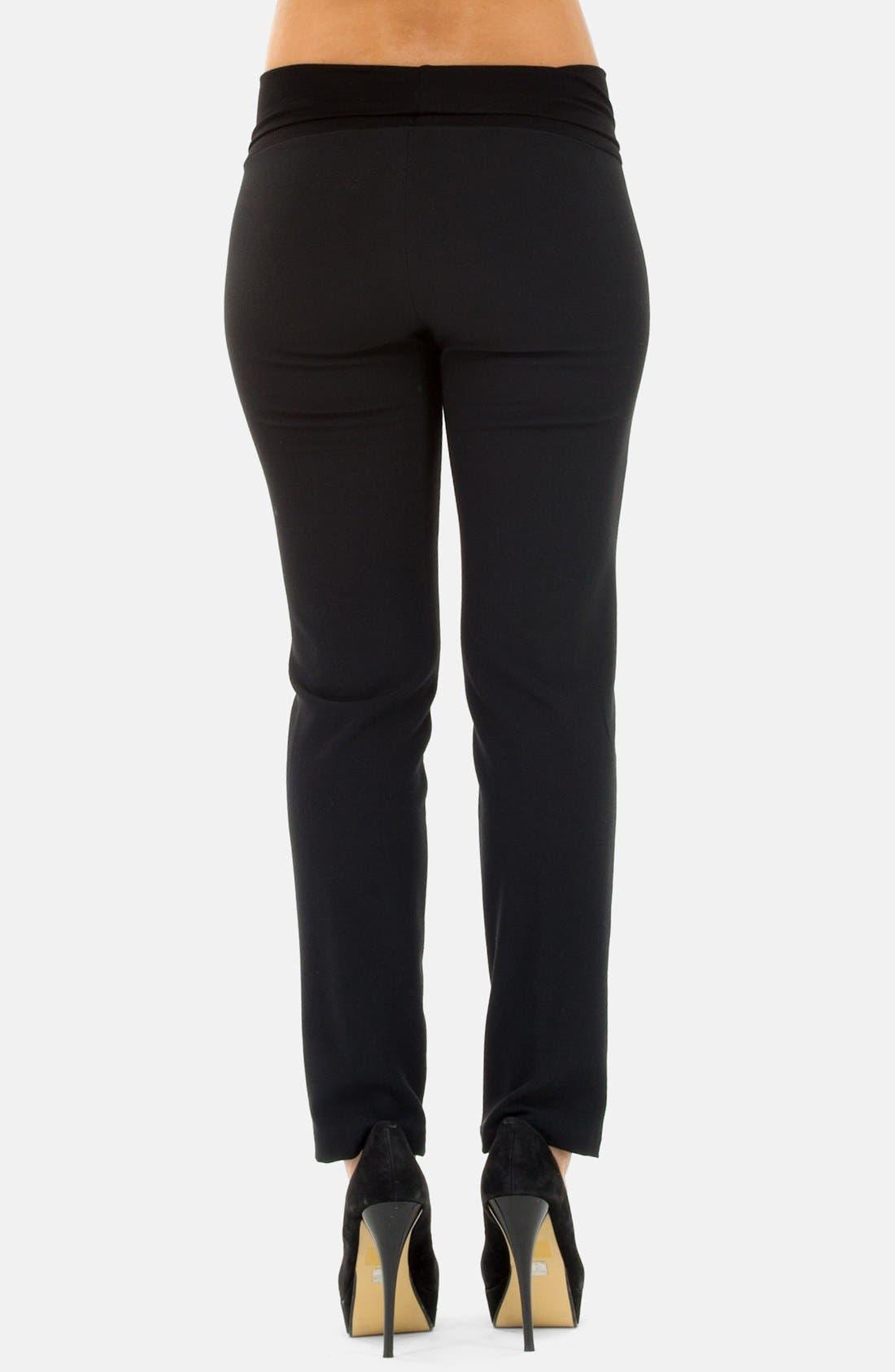 Alternate Image 2  - Olian Skinny Leg Maternity Pants
