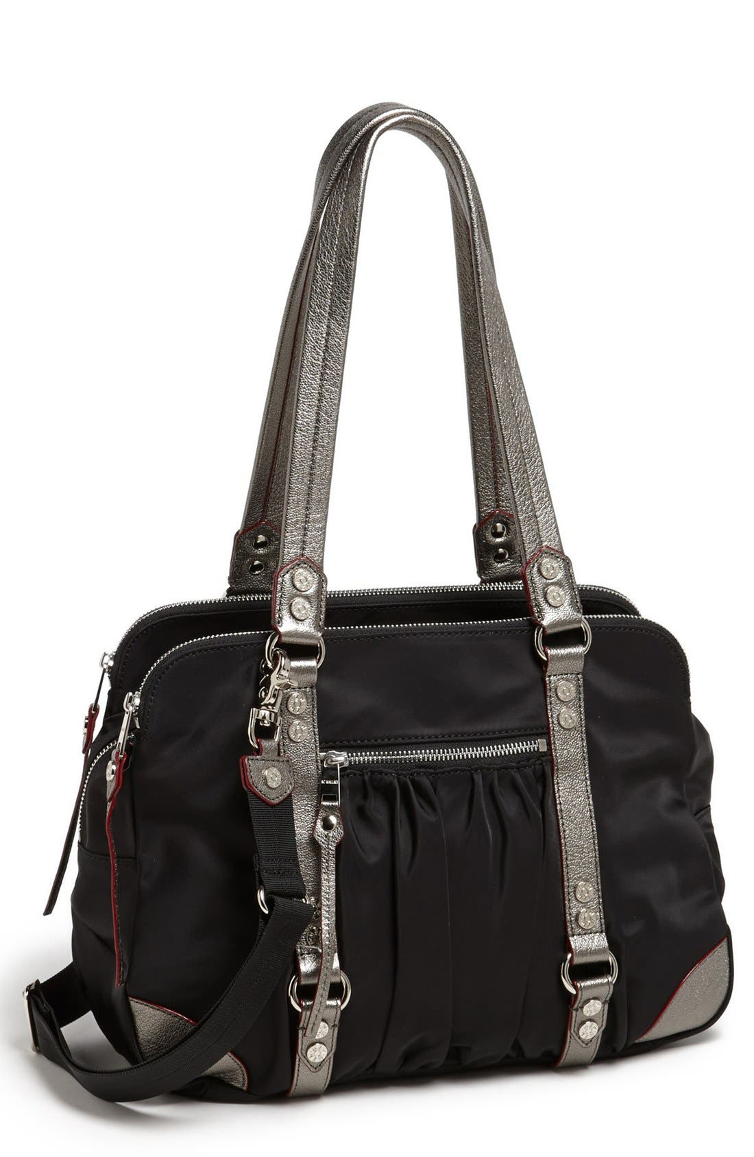 Main Image - MZ Wallace 'Tribeca' Bedford Nylon Satchel