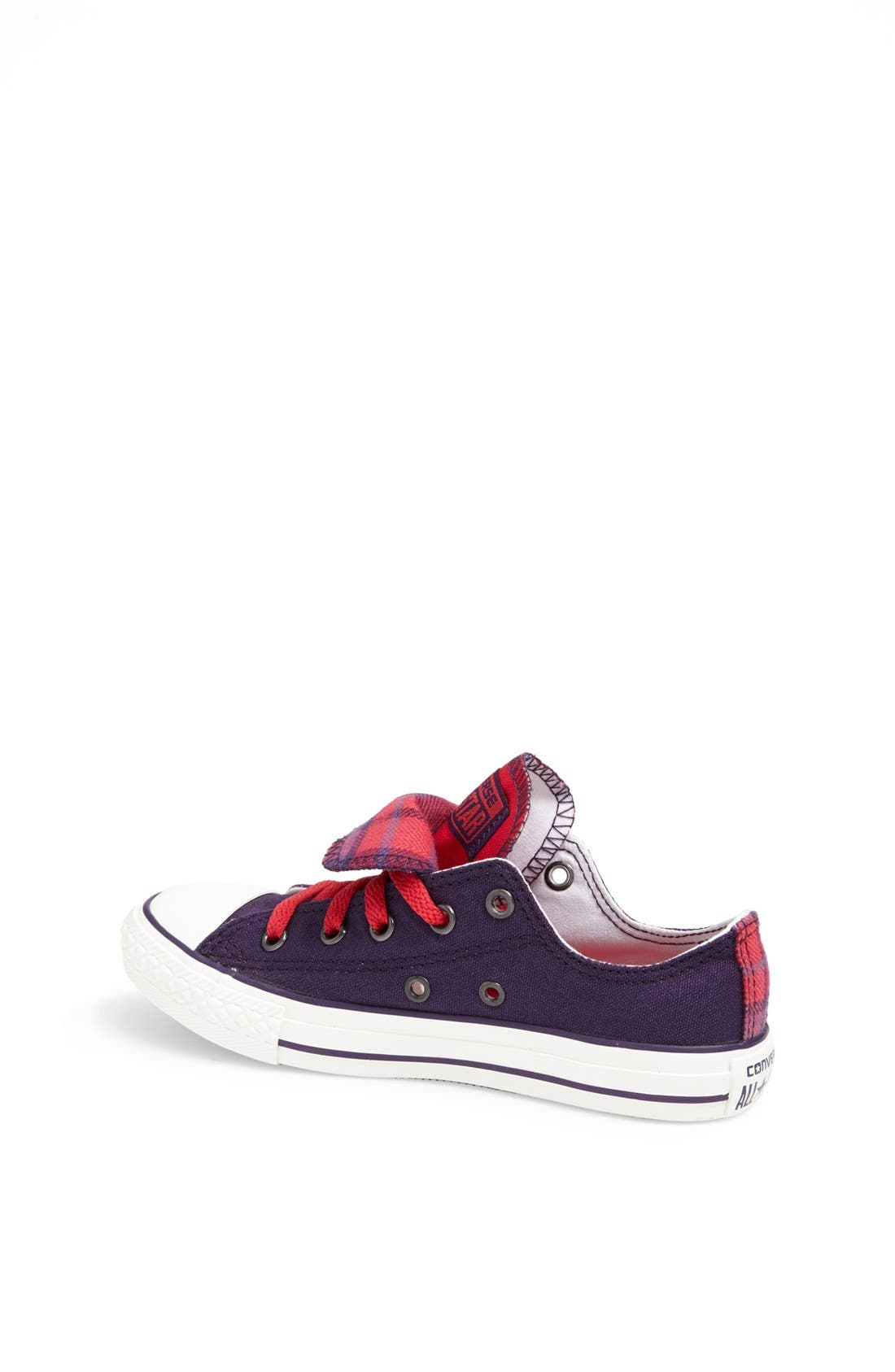 Alternate Image 2  - Converse Chuck Taylor® All Star® Double Tongue Sneaker (Toddler, Little Kid & Big Kid)