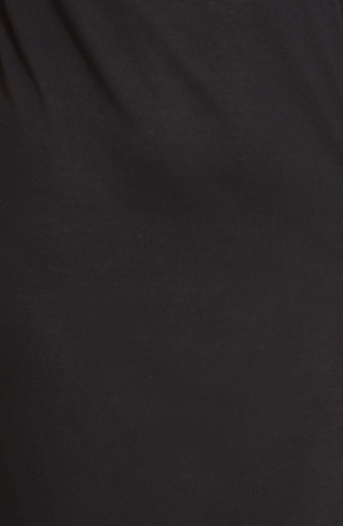 Alternate Image 3  - Rick Owens Suede Hood Jersey Tunic Dress