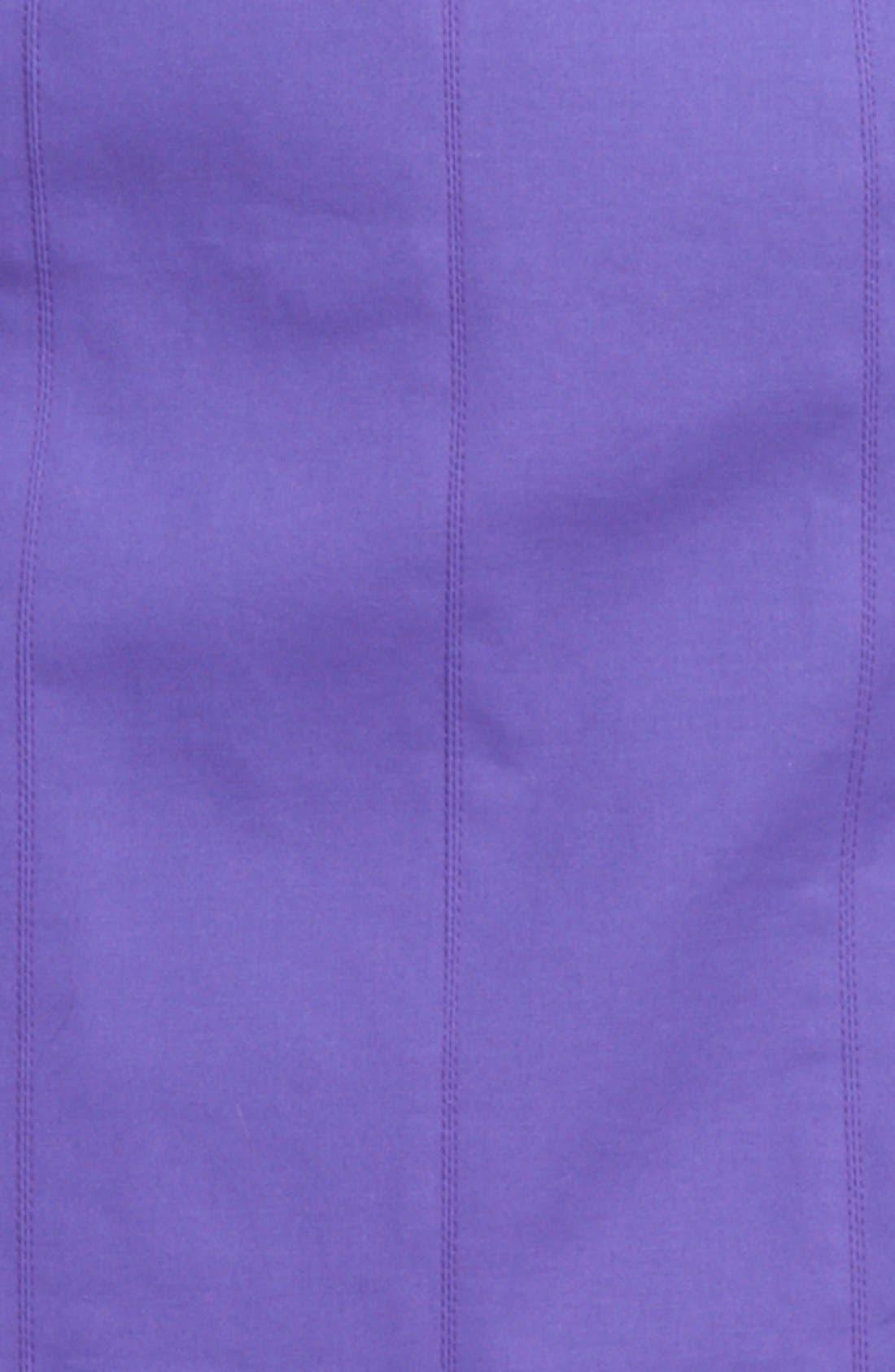Alternate Image 3  - Armani Collezioni Double Face Stretch Cotton Dress