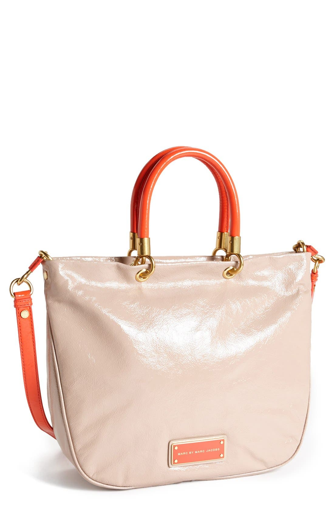 Alternate Image 1 Selected - MARC BY MARC JACOBS 'Mini' Glazed Shopper