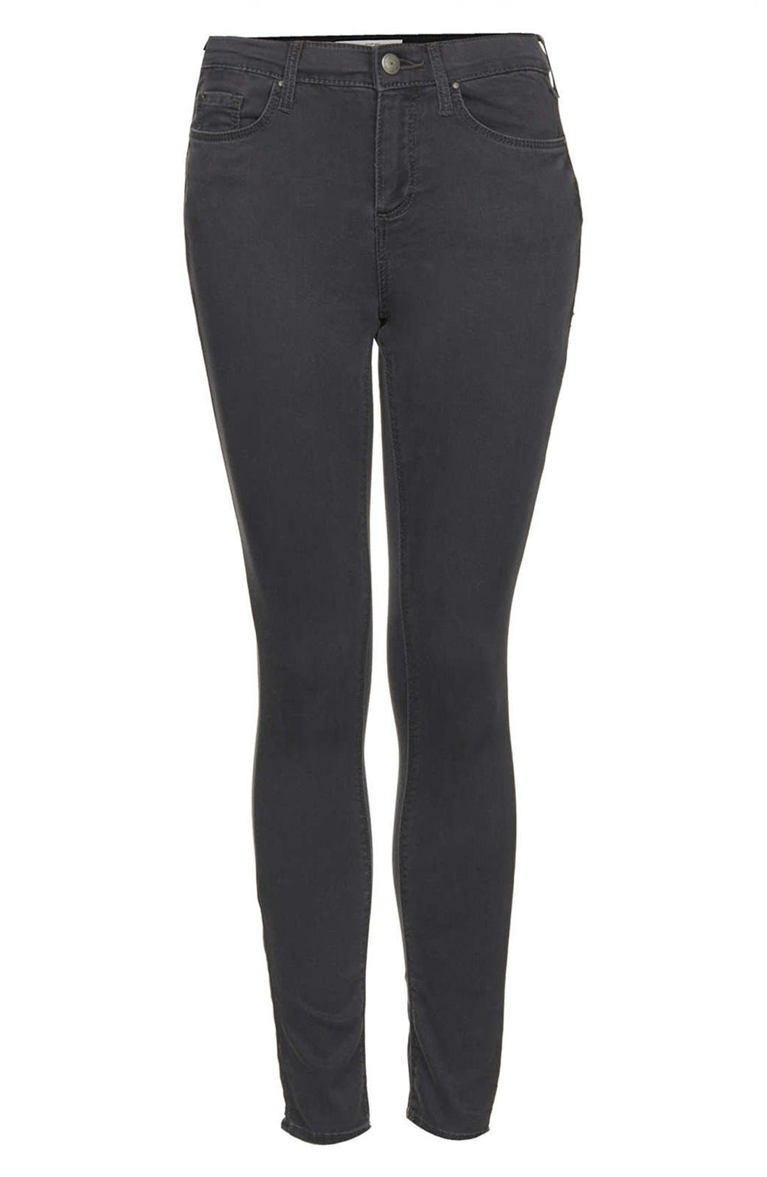 Alternate Image 3  - Topshop Moto 'Leigh' Skinny Jeans (Regular & Short)