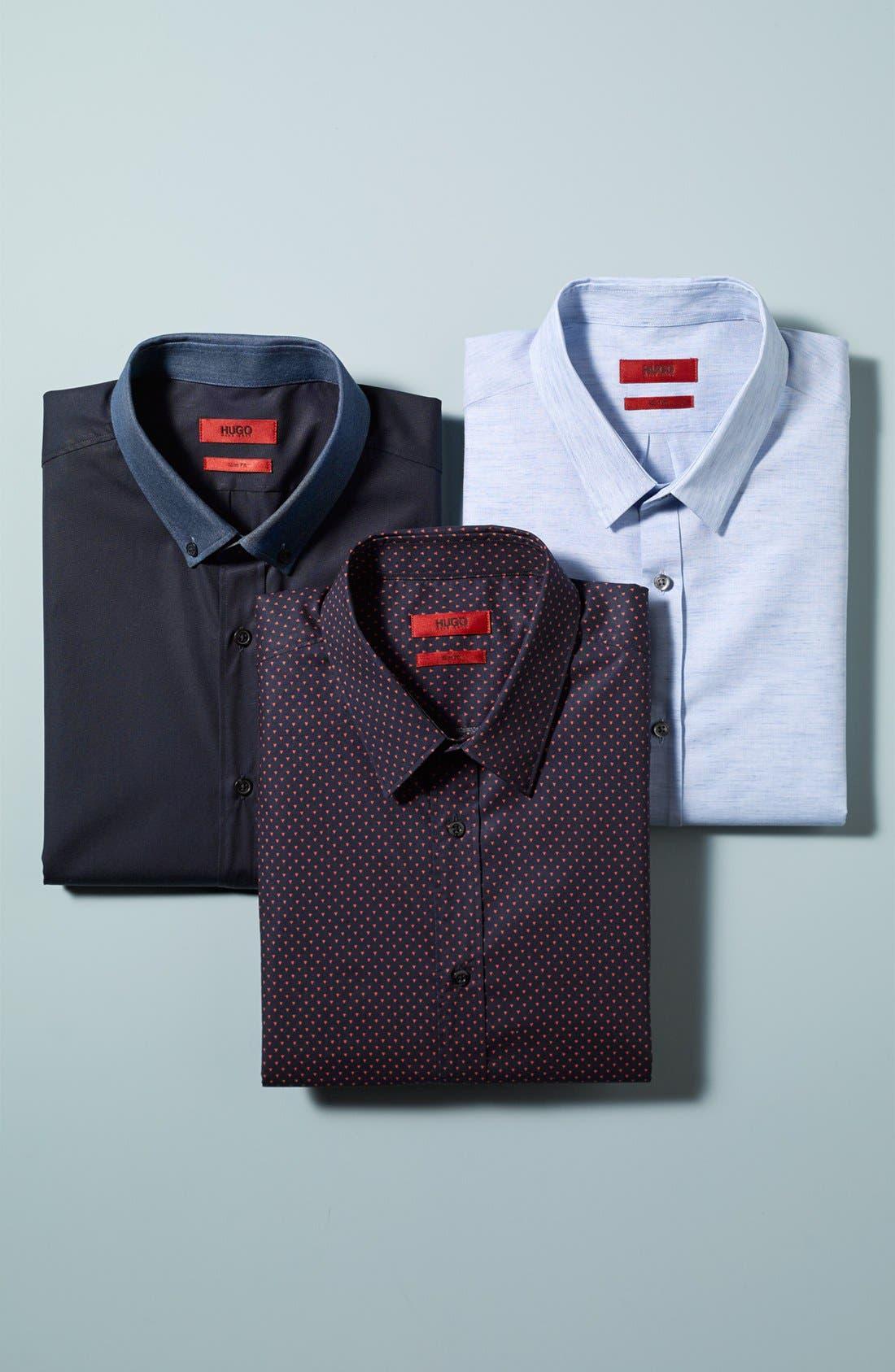 Alternate Image 4  - HUGO 'Enico' Sport Shirt