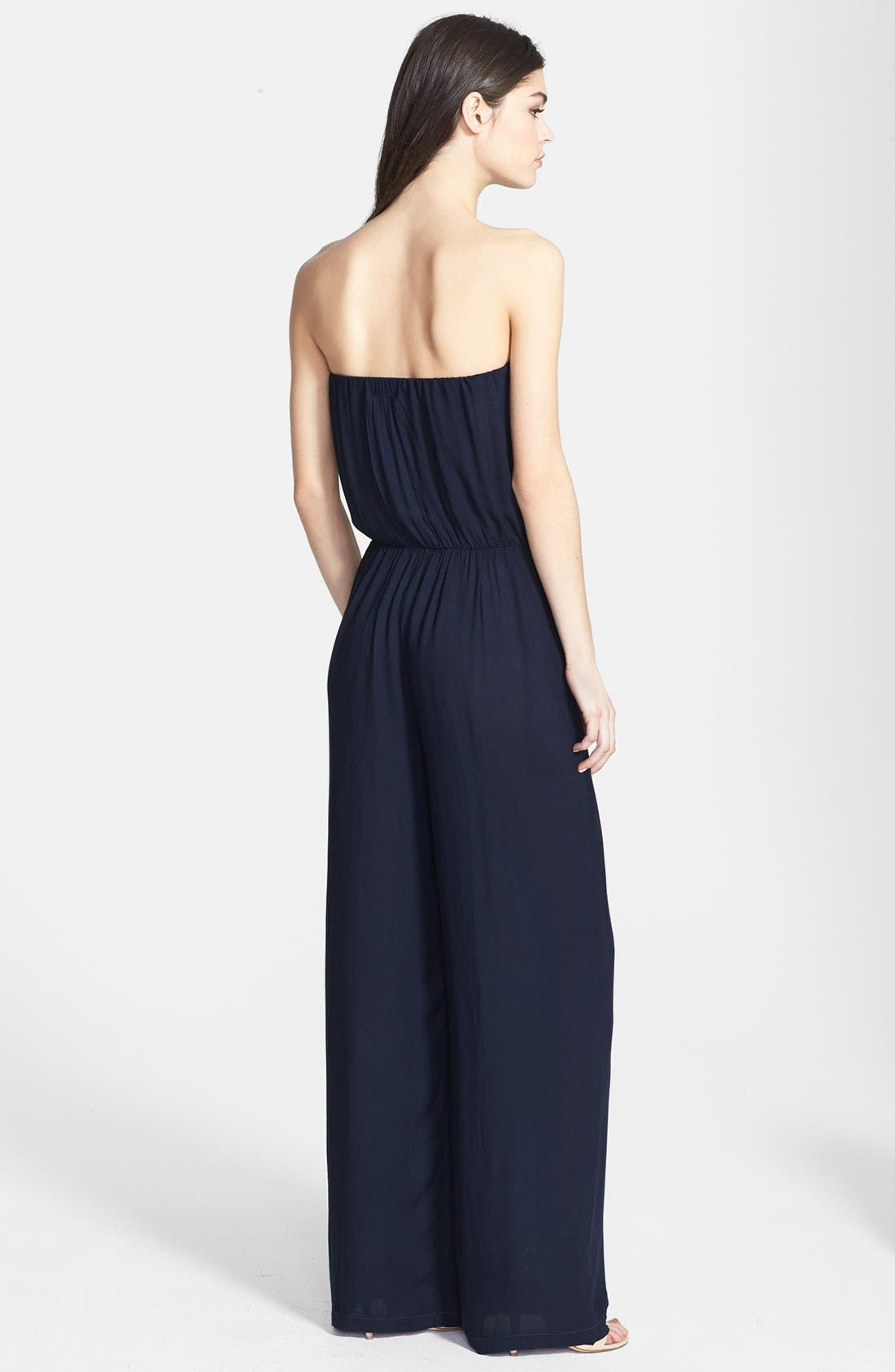 Alternate Image 2  - Young, Fabulous & Broke 'Arie' Strapless Jumpsuit