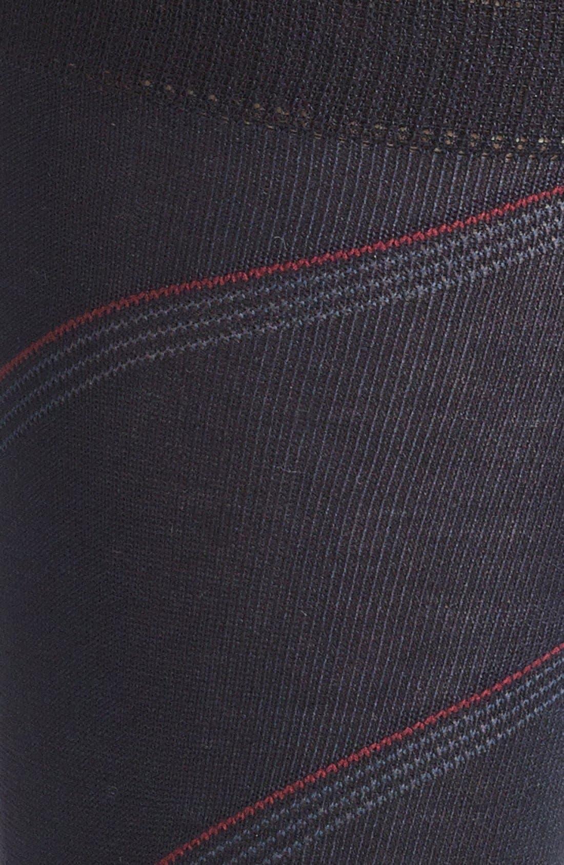 Alternate Image 2  - John W. Nordstrom® Stripe Socks (Men) (3 for $40)