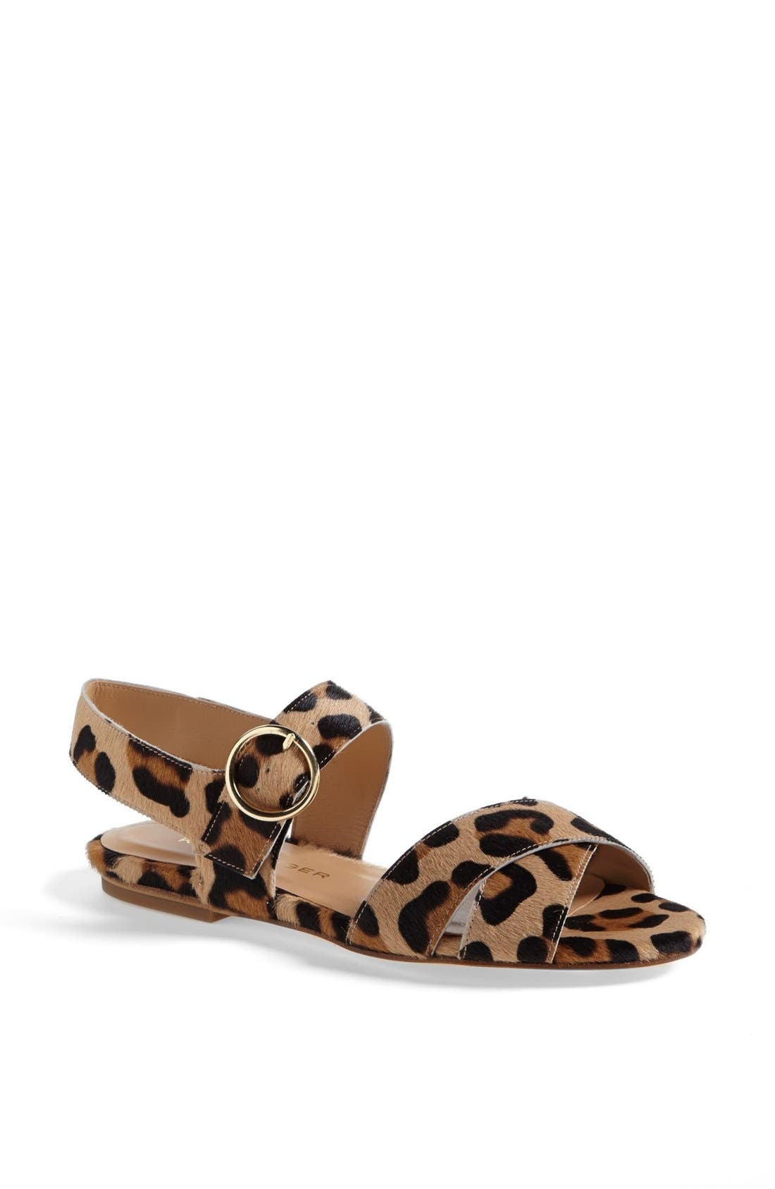 Alternate Image 1 Selected - Kurt Geiger London 'Dahlia 2' Calf Hair Sandal