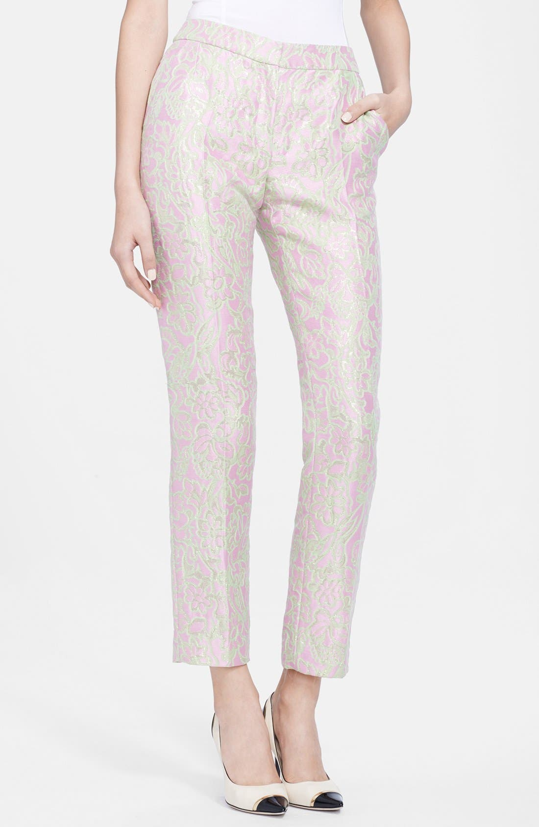 Alternate Image 1 Selected - Nina Ricci Jacquard Pants