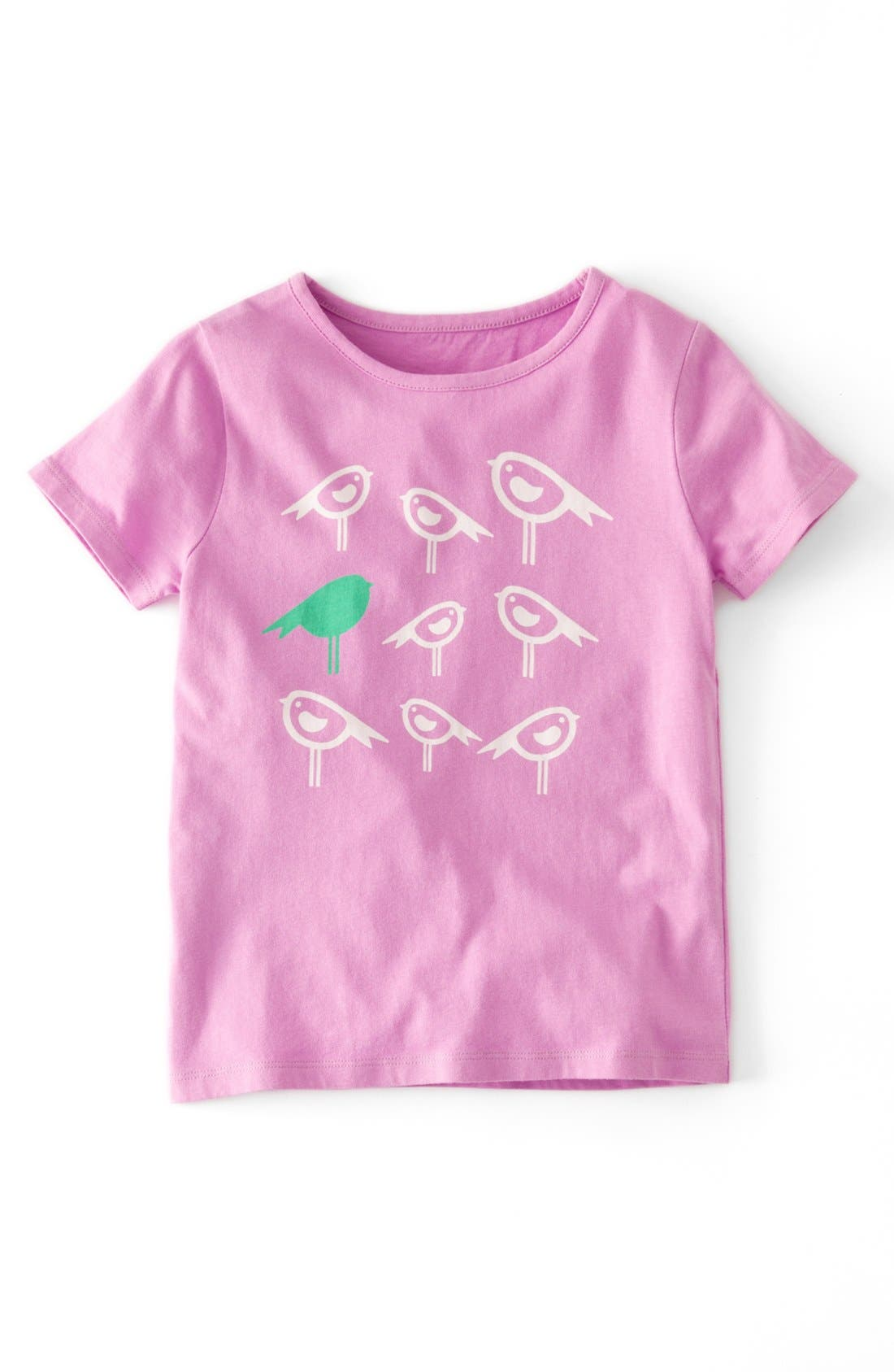 Main Image - Mini Boden Short Sleeve T-Shirt (Toddler Girls, Little Girls & Big Girls)(Online Only)