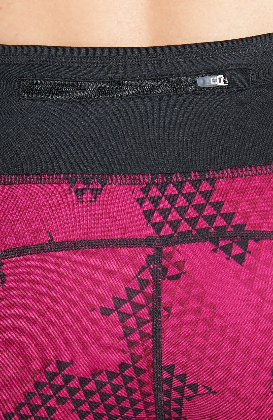 Alternate Image 4  - Nike 'Epic Run' Dri-FIT Print Capris