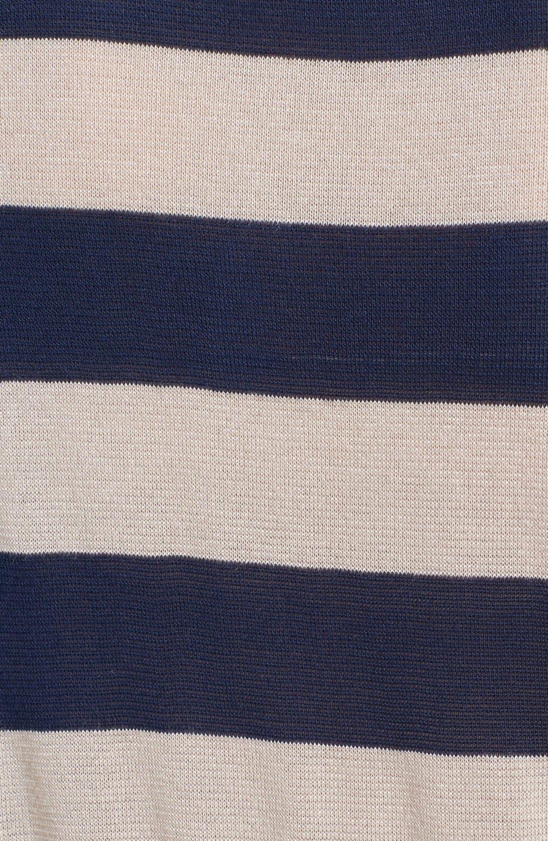 Alternate Image 3  - Olivia Moon Woven Sleeve Pullover