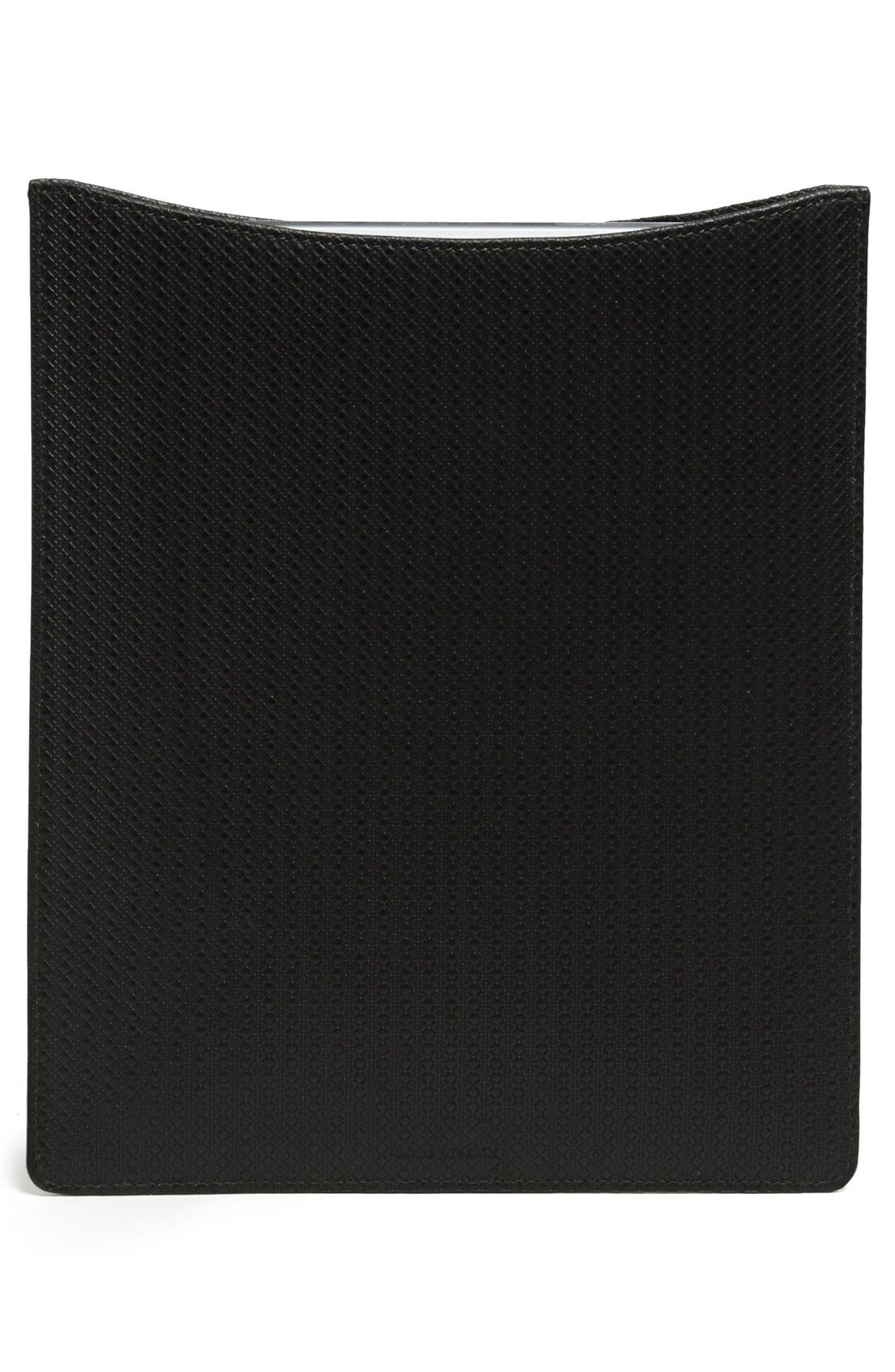 Alternate Image 4  - Canali Leather iPad Sleeve