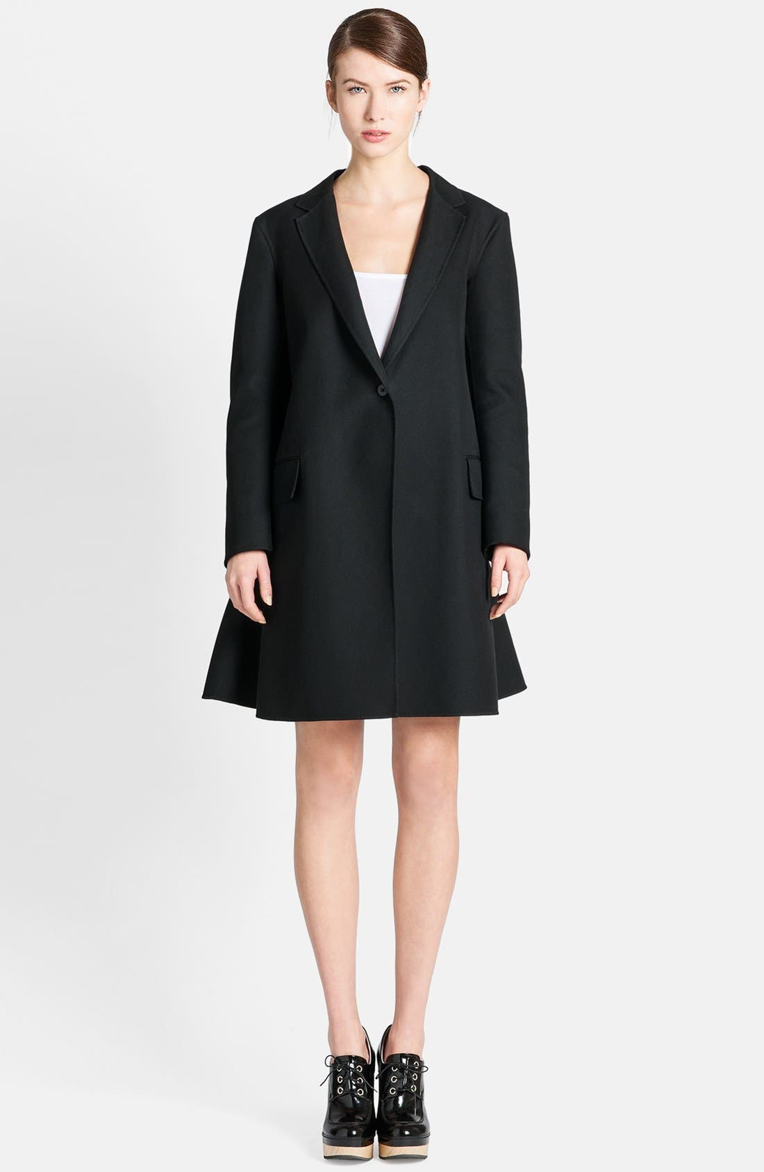 Main Image - Jil Sander Full Back One-Button Coat
