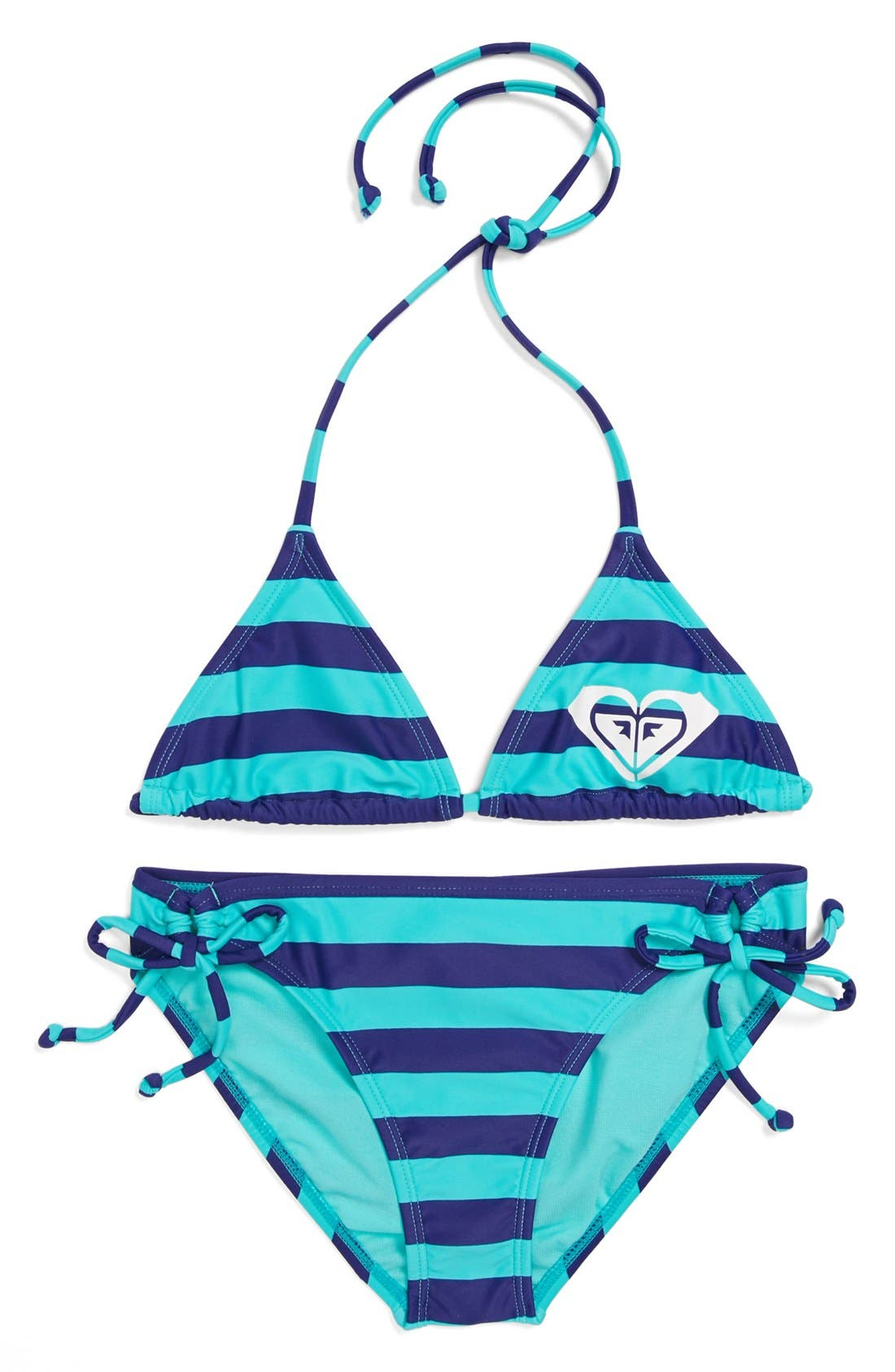 Alternate Image 1 Selected - Roxy Two-Piece Swimsuit (Big Girls)(Online Only)