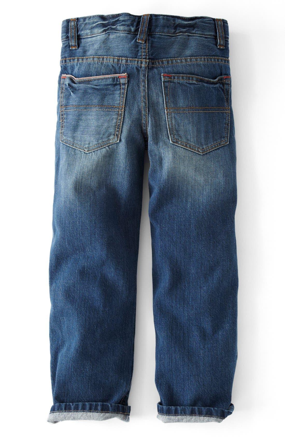 Alternate Image 2  - Mini Boden Vintage Jeans (Toddler Boys, Little Boys & Big Boy)