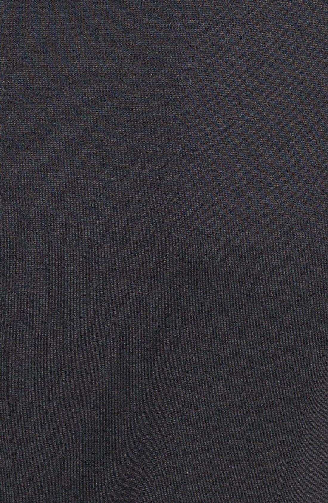 Alternate Image 3  - kensie Bonded Lace Peplum Sheath Dress