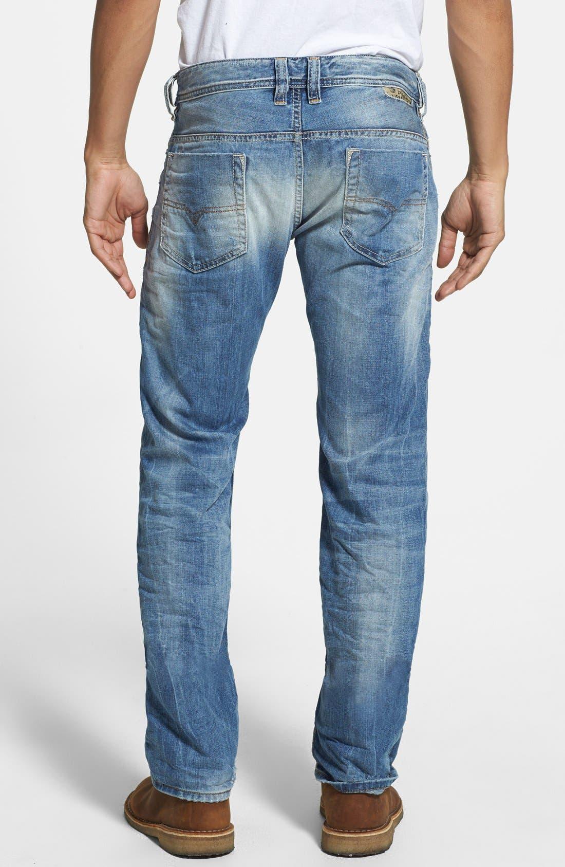 Alternate Image 2  - DIESEL® 'Safado' Slim Fit Jeans (826D)
