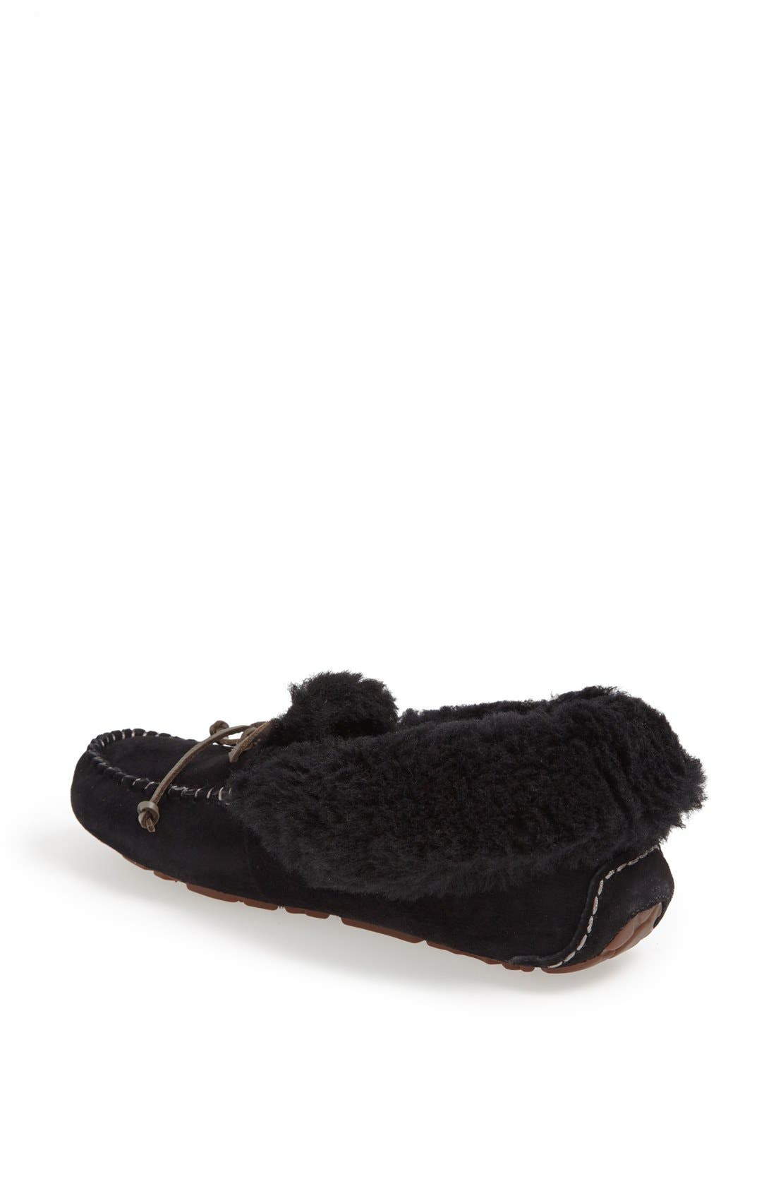 Alternate Image 2  - UGG® UGGpure™ Alena Suede Slipper Bootie (Women)