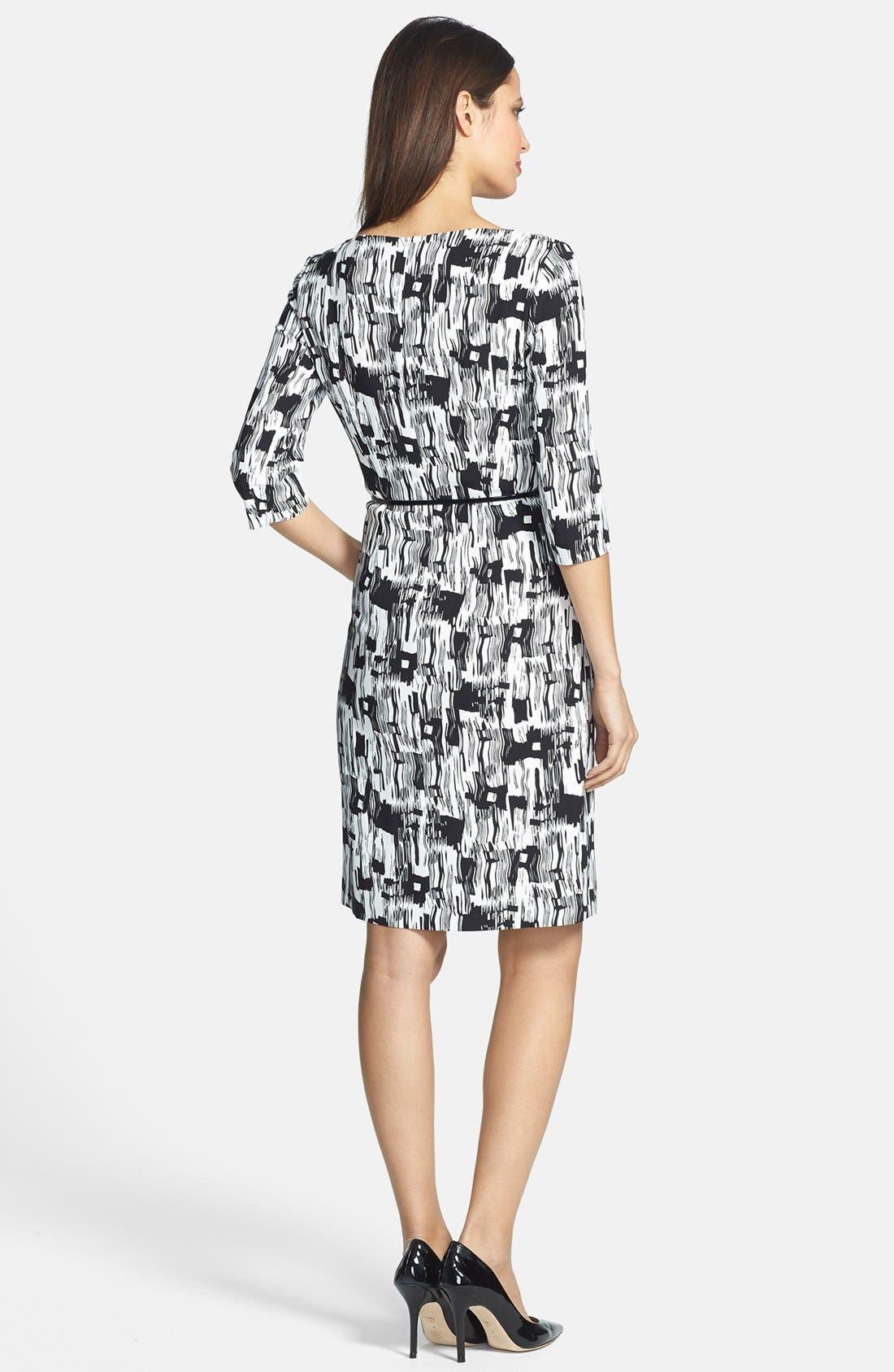 Alternate Image 2  - BOSS HUGO BOSS 'Dinomi' Print Stretch Crepe Dress