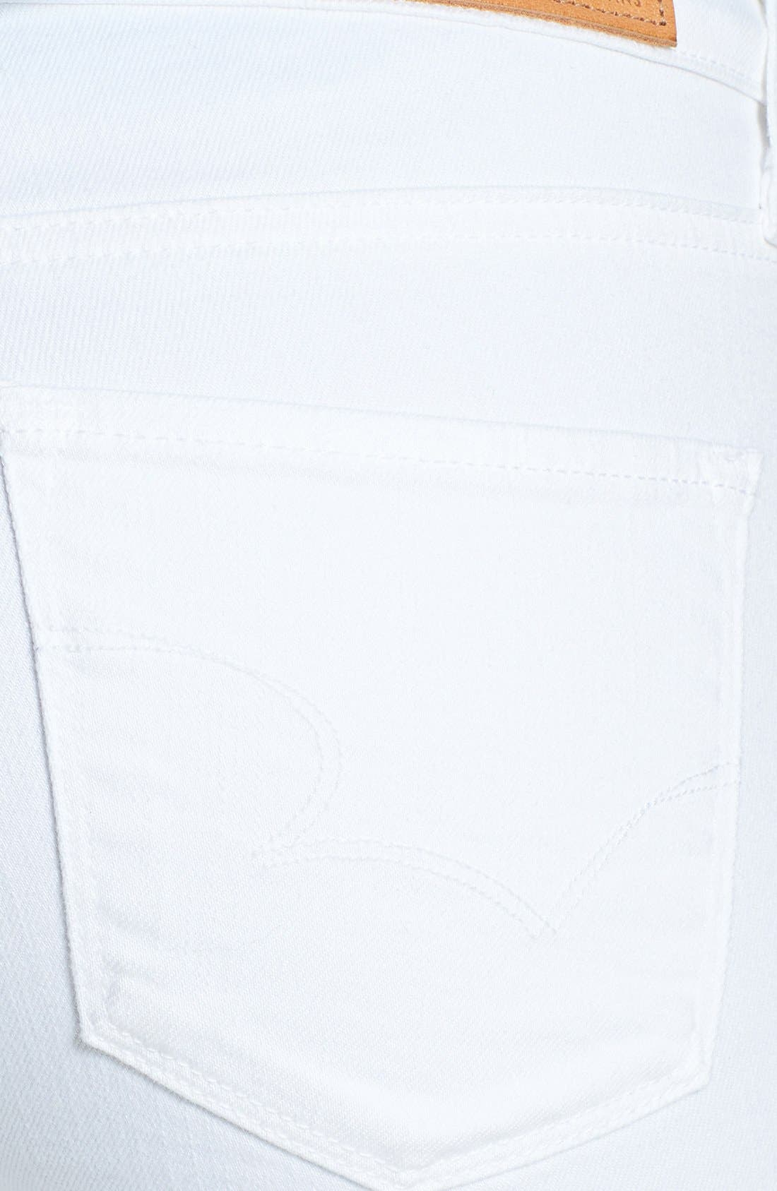 Alternate Image 3  - Big Star 'Alex' Stretch Skinny Jeans (White)