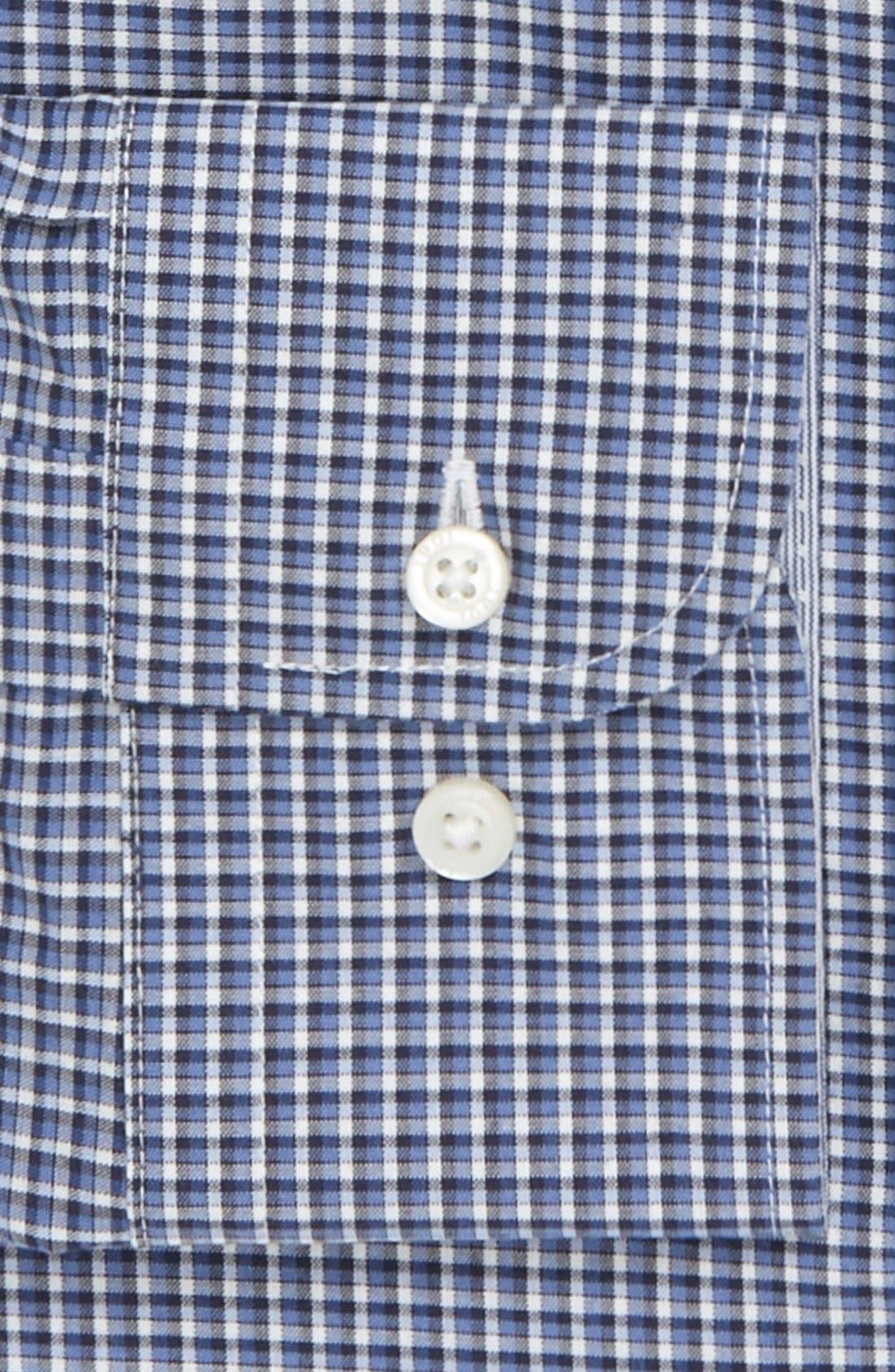 Alternate Image 2  - 1901 Trim Fit Check Dress Shirt