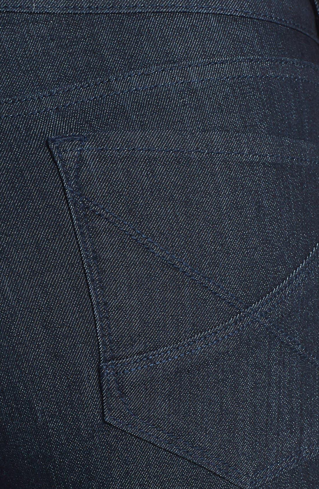 Alternate Image 3  - NYDJ 'Hayden' Stretch Denim Crop Jeans (Dark Enzyme) (Petite)