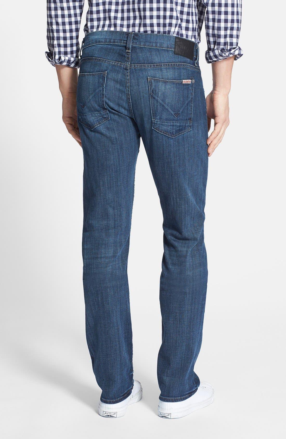 Alternate Image 2  - Hudson Jeans 'Byron' Slim Straight Leg Jeans (Harris)
