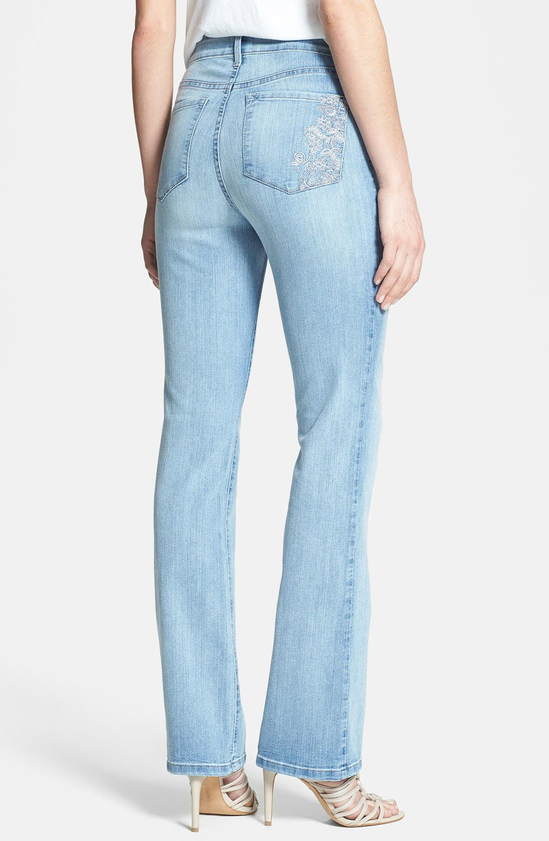Alternate Image 2  - NYDJ 'Barbara' Stretch Bootcut Jeans (Palos Verdes)