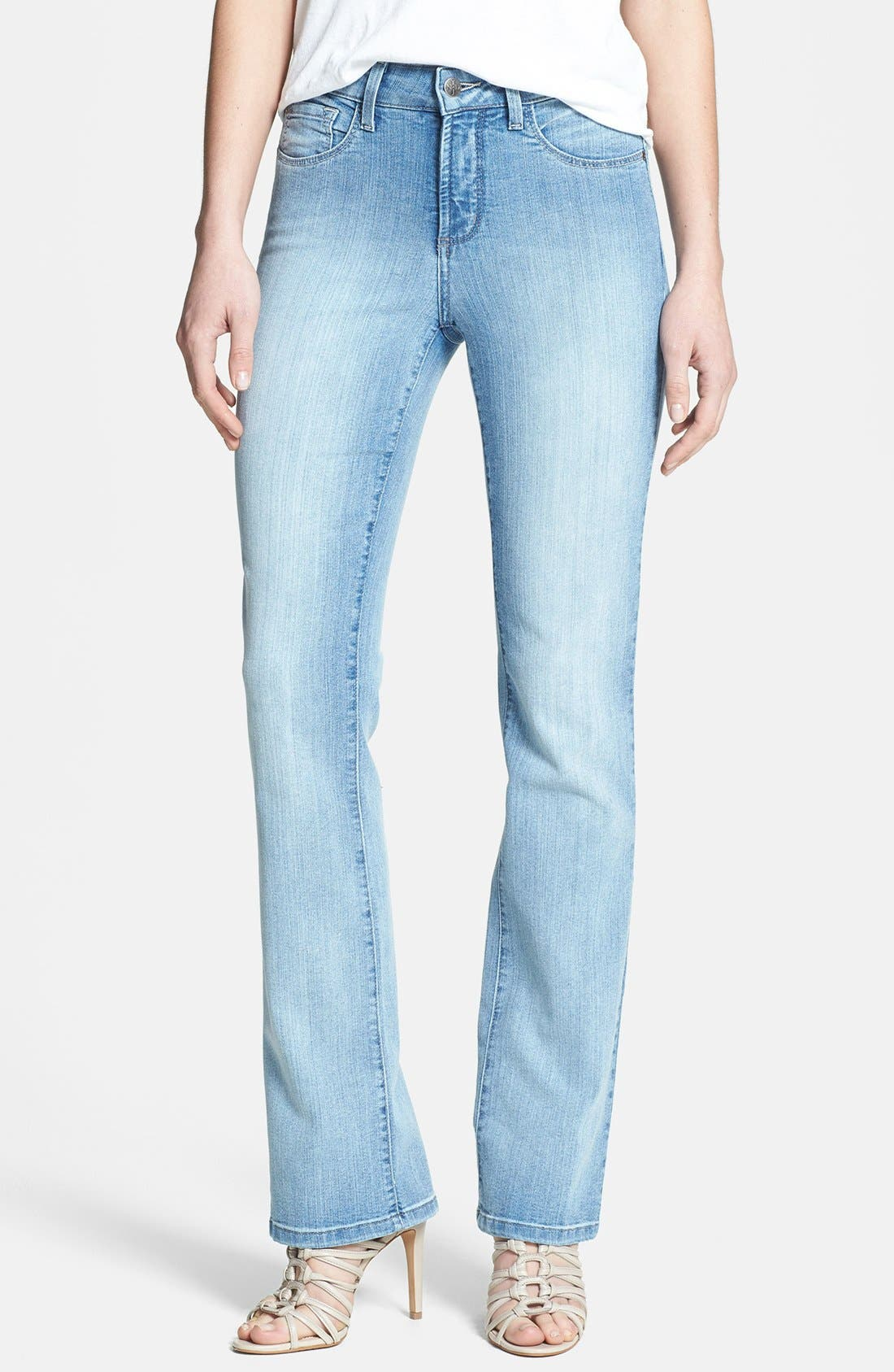 Alternate Image 1 Selected - NYDJ 'Barbara' Stretch Bootcut Jeans (Palos Verdes)