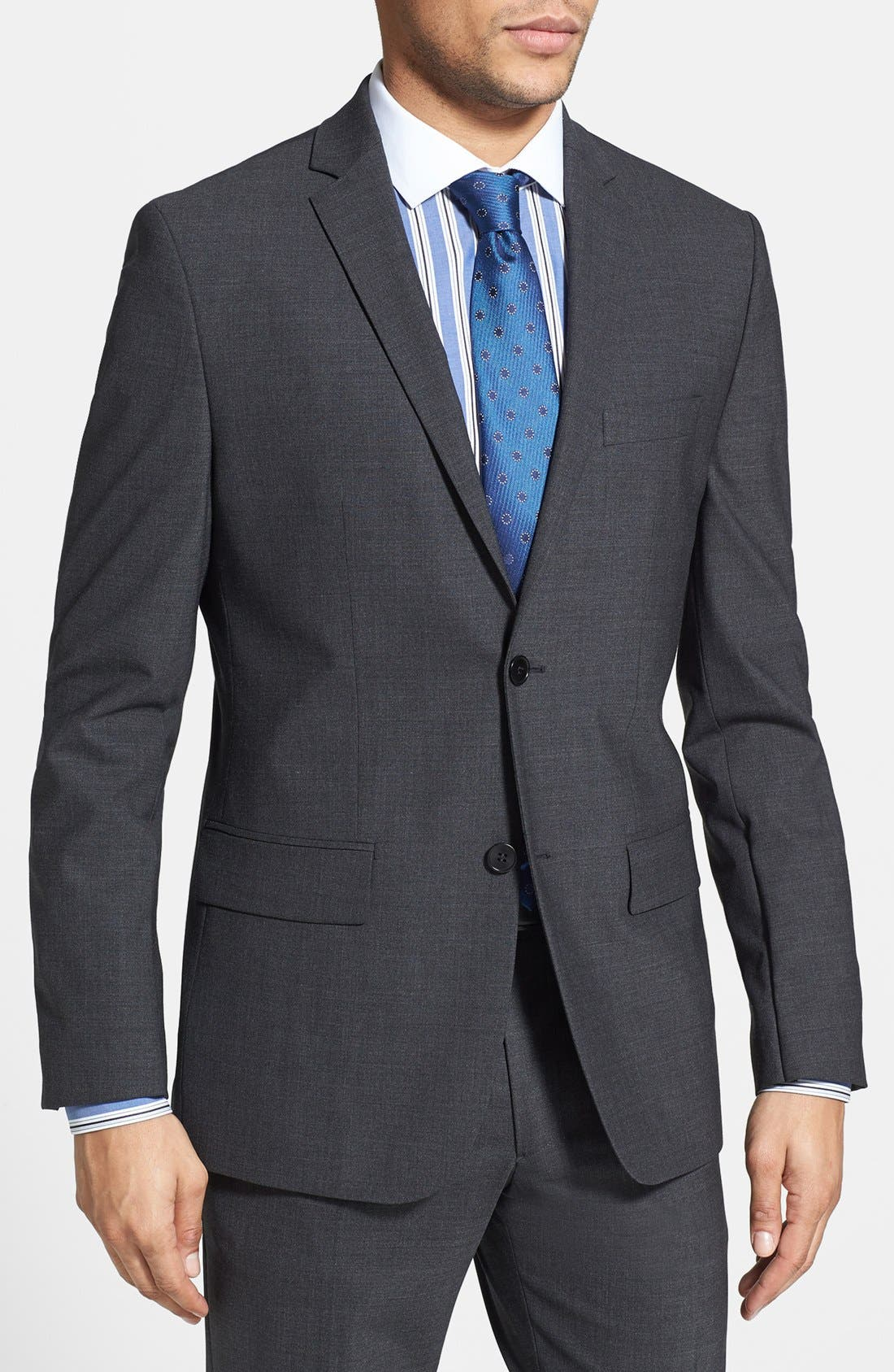 Alternate Image 1 Selected - Kenneth Cole Collection Wool Blend Blazer
