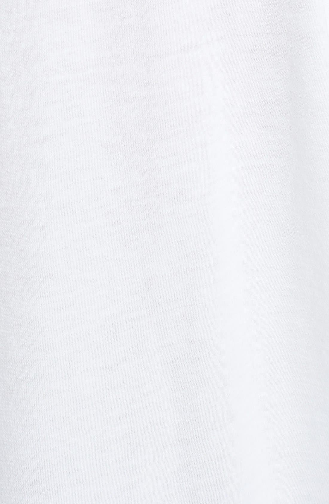 Alternate Image 3  - eskandar Long Sleeve Boatneck Linen Tee
