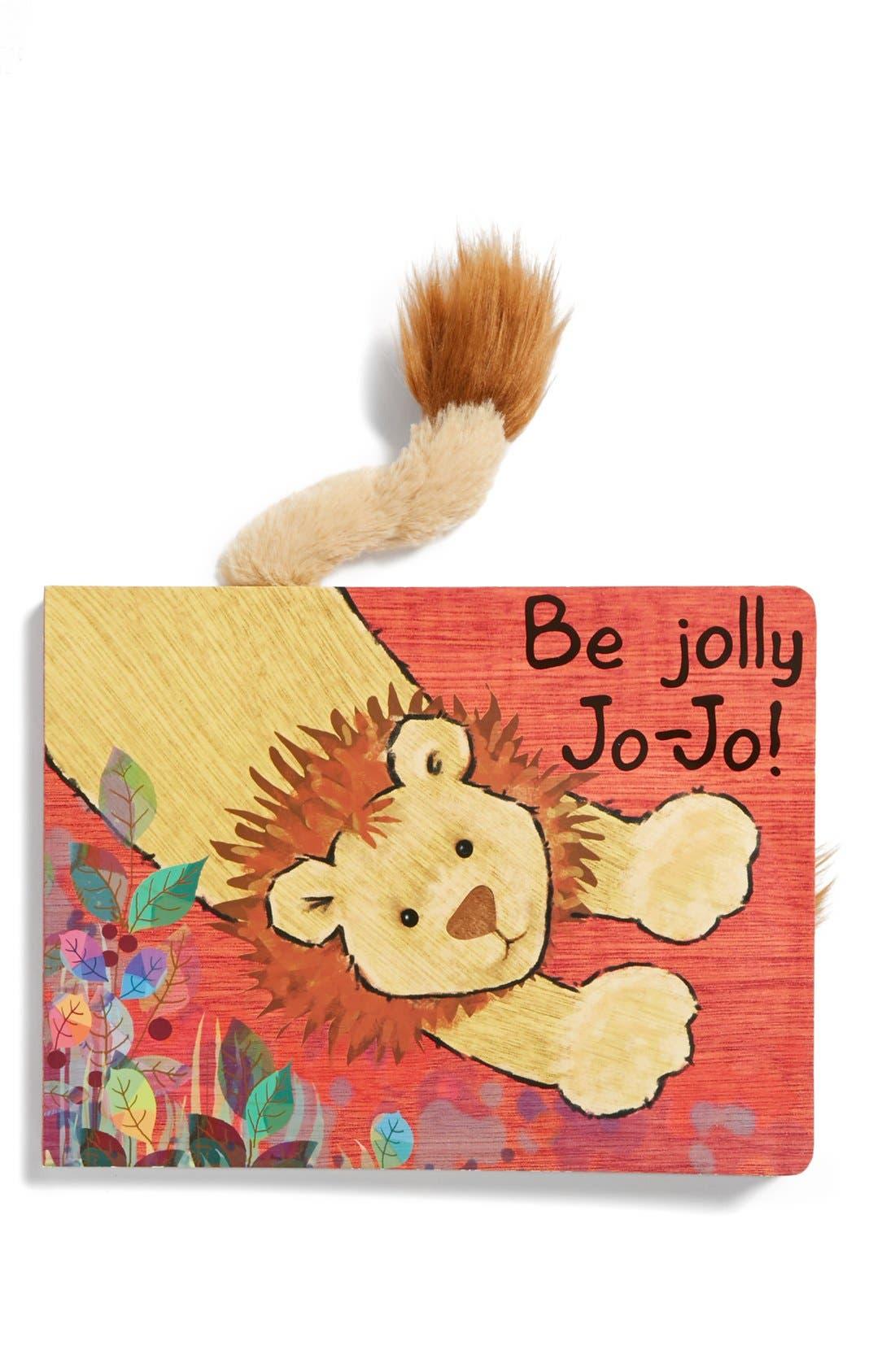 'Be Jolly Jo-Jo!' Book,                         Main,                         color, Yellow