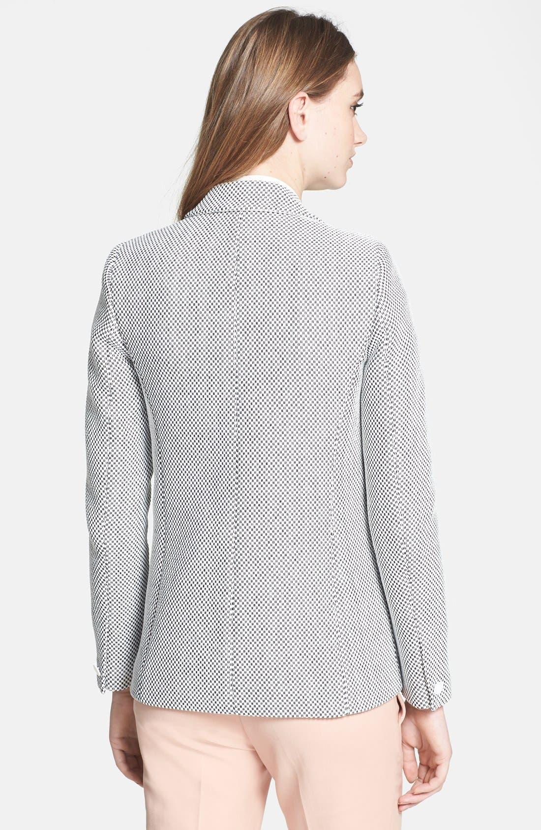 Alternate Image 2  - Rebecca Taylor 'Honeycomb' Jacket