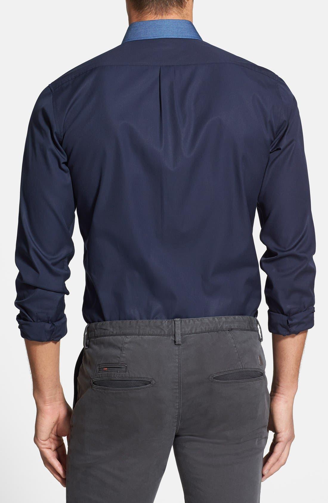 Alternate Image 2  - HUGO 'Enico' Sport Shirt