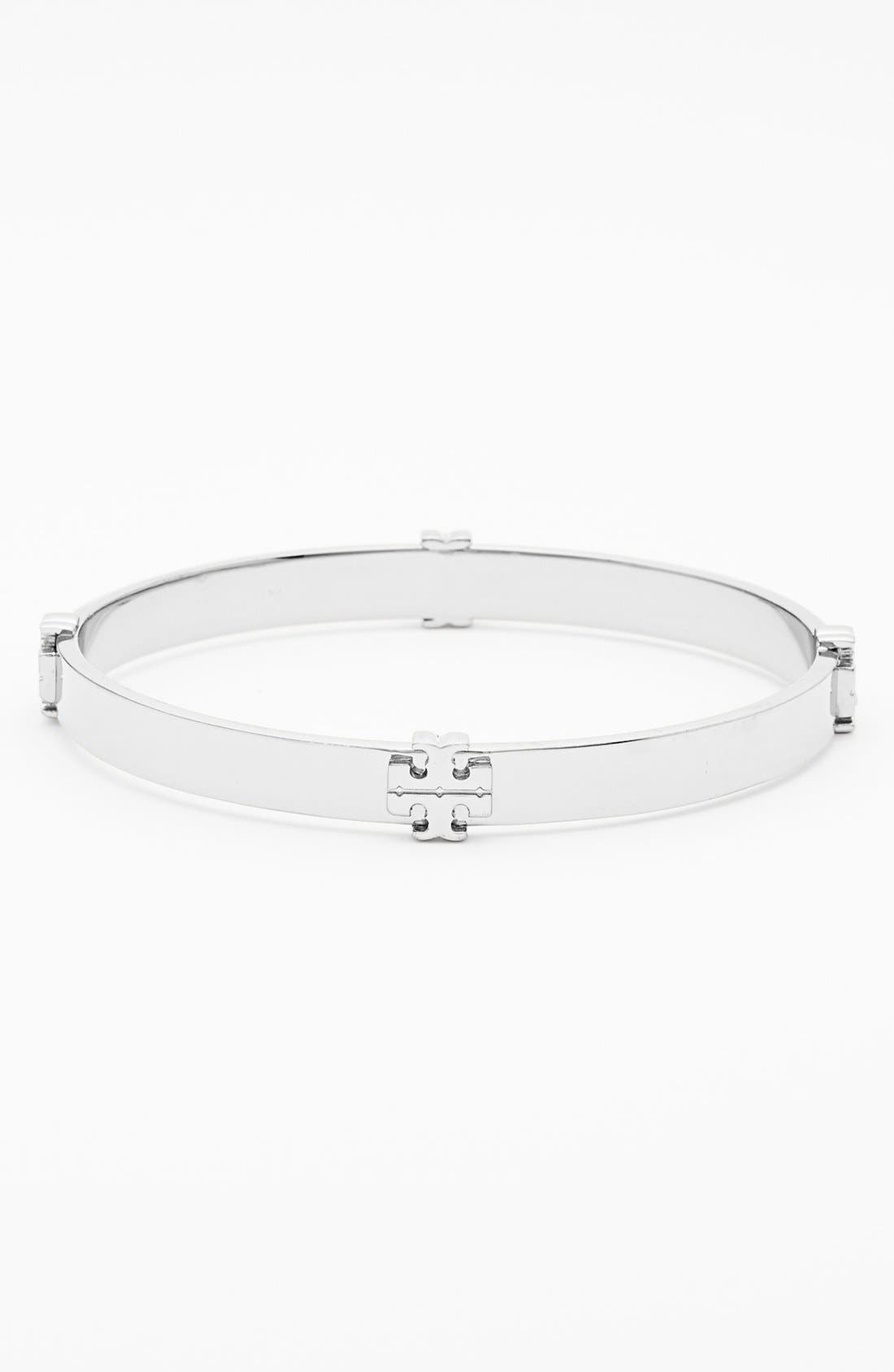 Main Image - Tory Burch Logo Bangle
