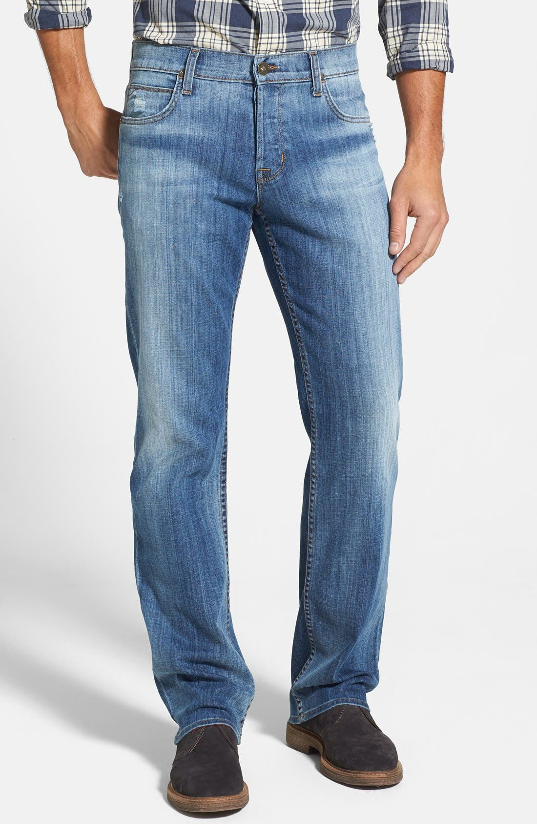 Alternate Image 1 Selected - Hudson Jeans 'Wilde' Relaxed Fit Jeans (Melt Into The Sea)
