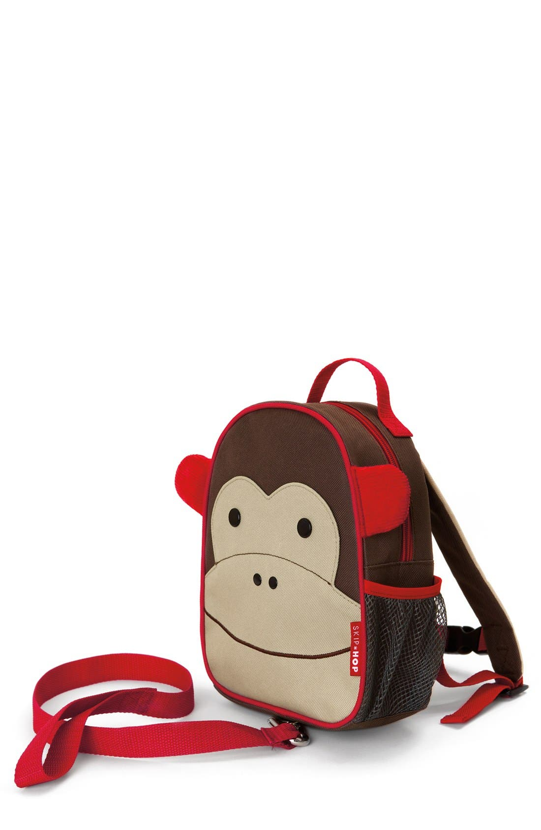 'Zoo' Safety Harness Backpack,                             Main thumbnail 1, color,                             Brown