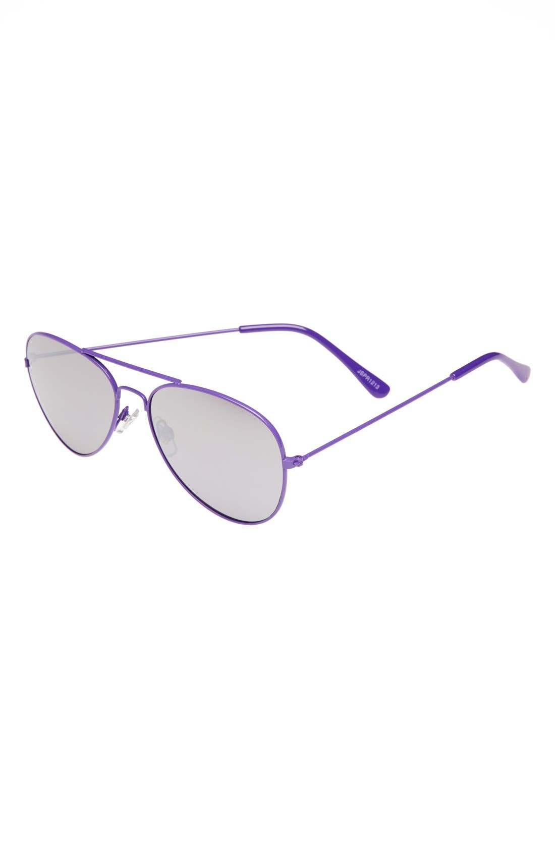 Alternate Image 1 Selected - Fantas Eyes 'Jetsetter' Aviator Sunglasses (Girls)
