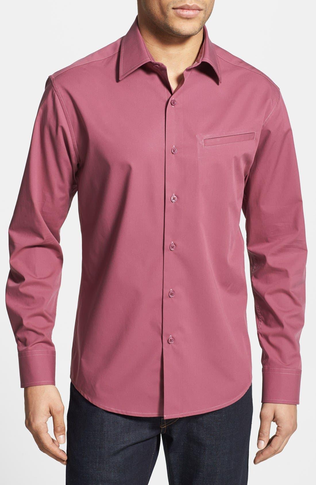 Alternate Image 1 Selected - Vince Camuto Slim Fit Sport Shirt