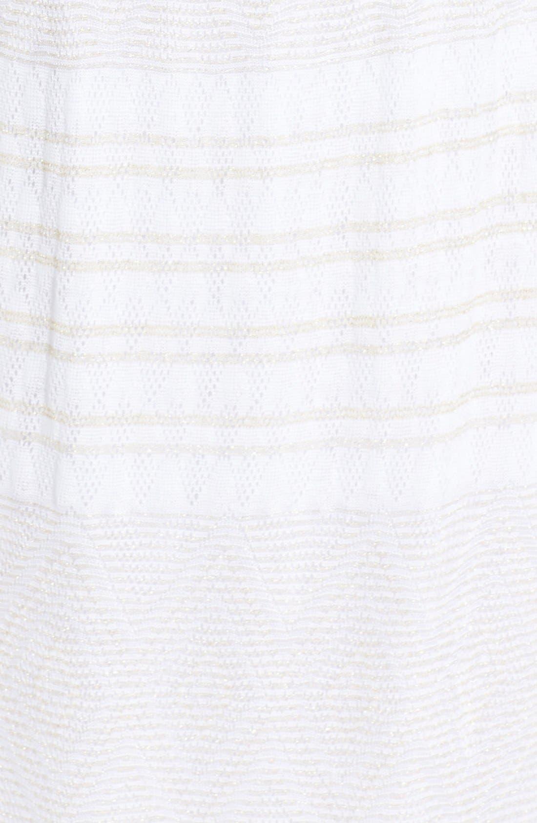 Alternate Image 3  - Vitamin A® 'Olivia' Strapless Crochet Maxi Dress