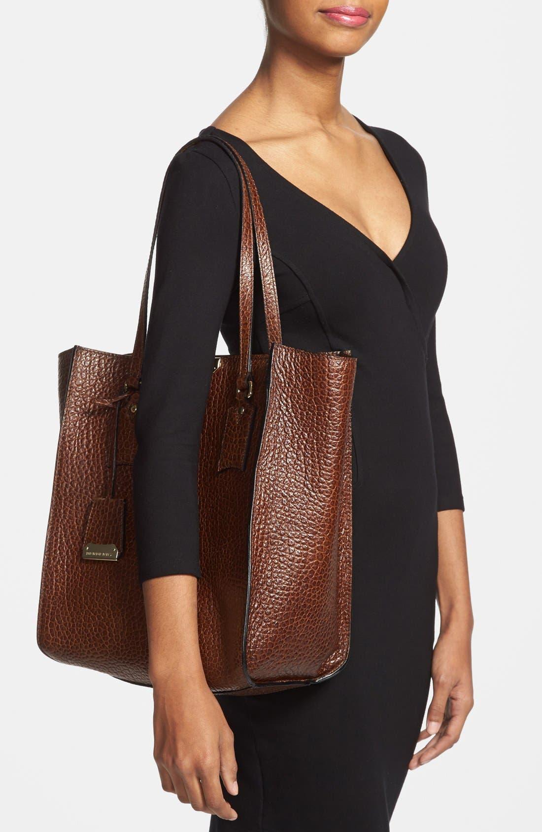 Alternate Image 2  - Burberry 'Woodbury - Medium' Leather Tote