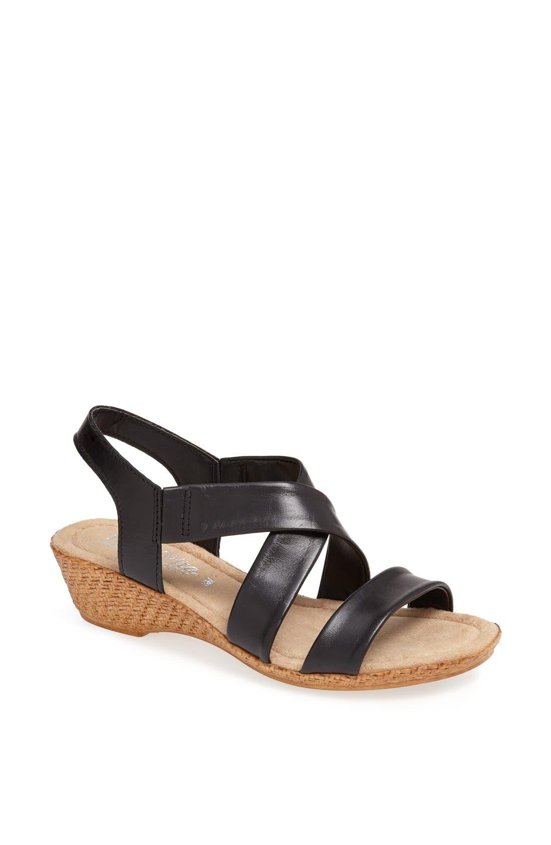 Alternate Image 1 Selected - Bella Vita 'Ciao' Wedge Sandal