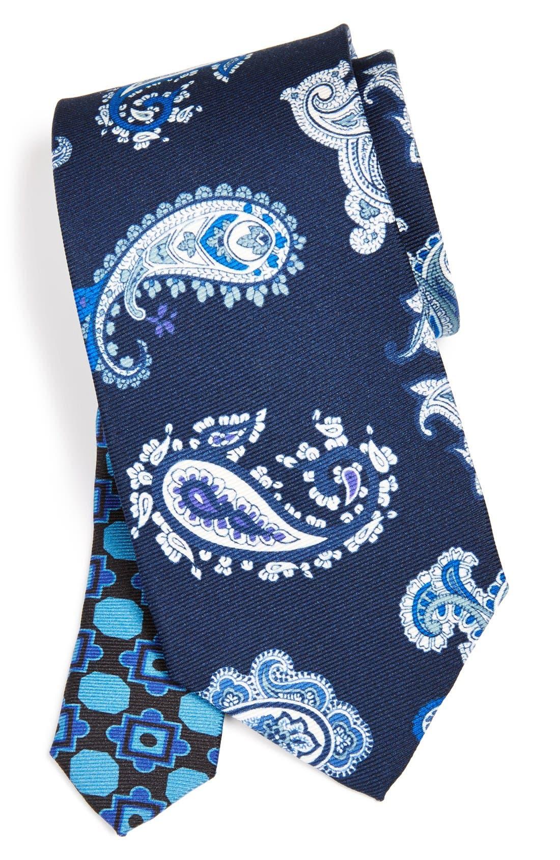 Main Image - Etro Print Silk Tie