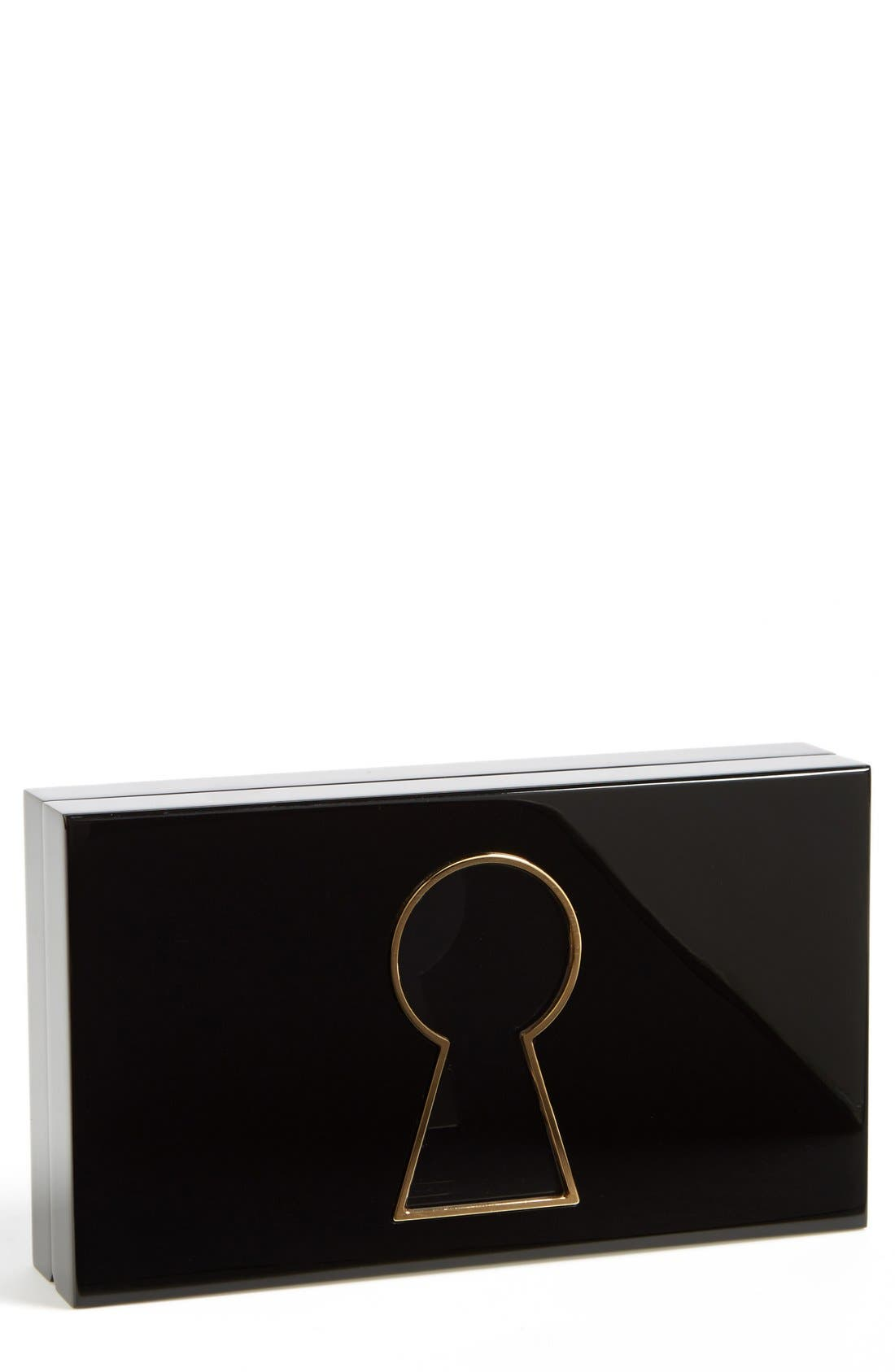 Alternate Image 1 Selected - Charlotte Olympia 'Keyhole Pandora' Clutch