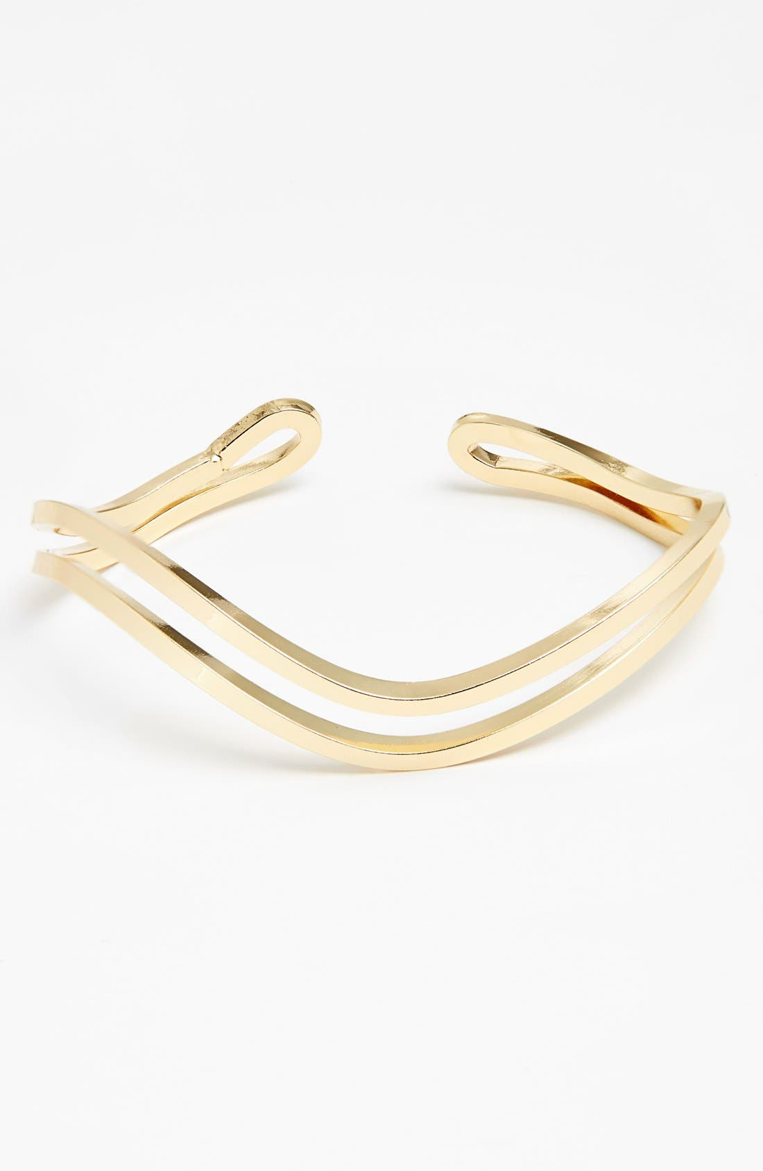 Alternate Image 1 Selected - Rachel Wavy Metal Cuff (Juniors)