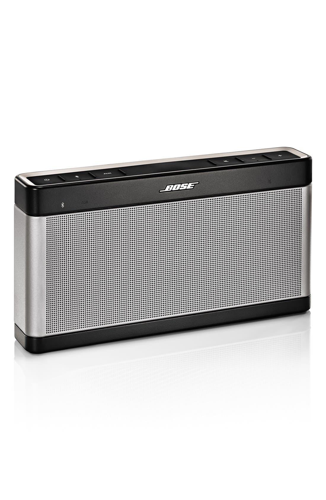 SoundLink<sup>®</sup> Bluetooth<sup>®</sup> Mobile Speaker III,                         Main,                         color, Gray