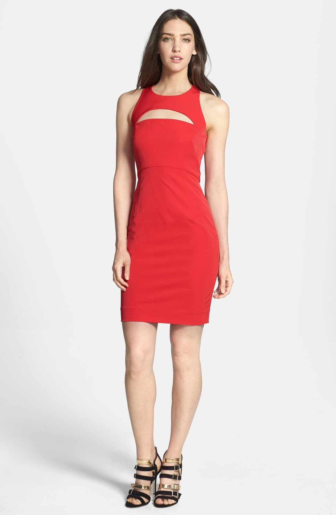 Main Image - Milly Cutout Body-Con Dress
